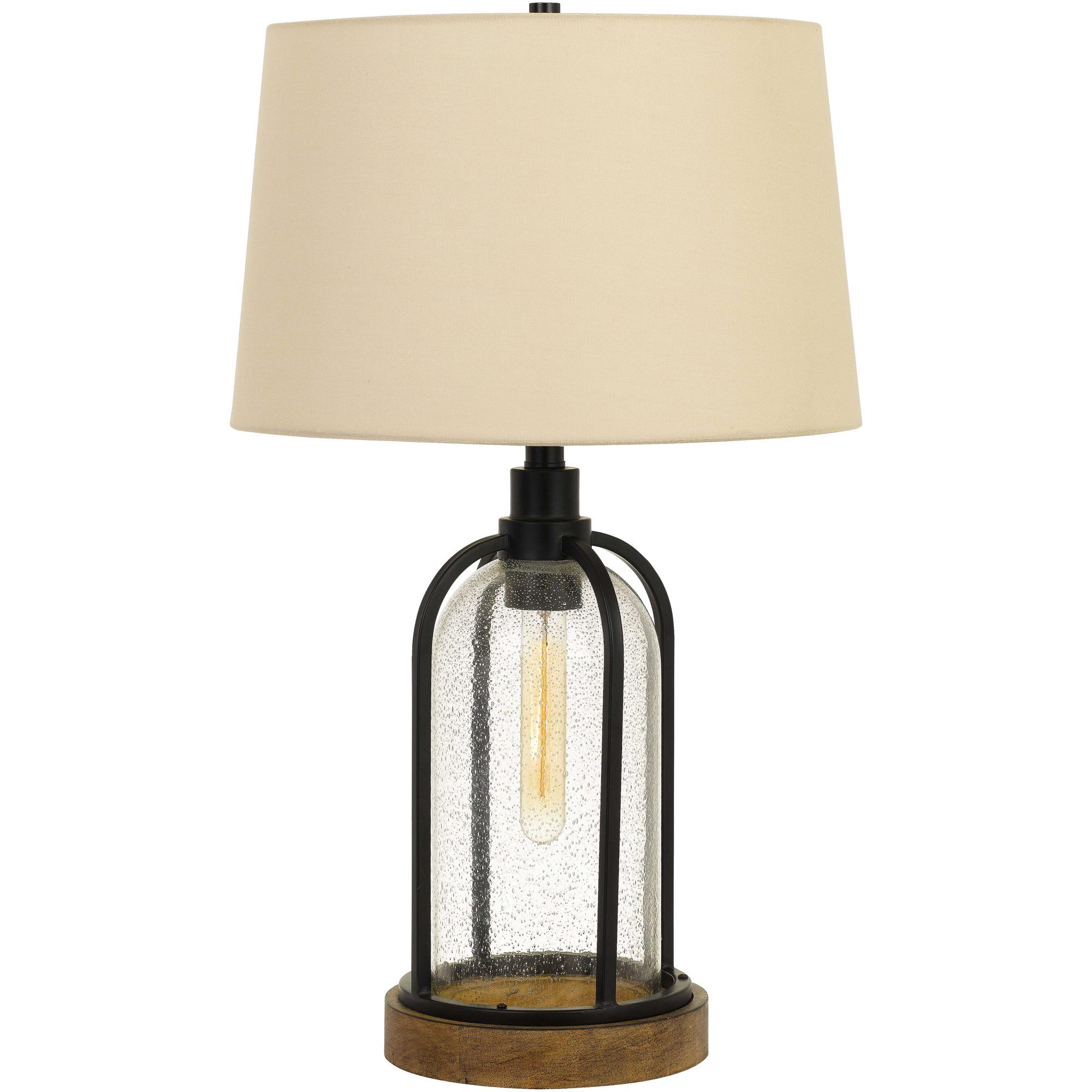 Cal Lighting | Ciney Black Table Lamp