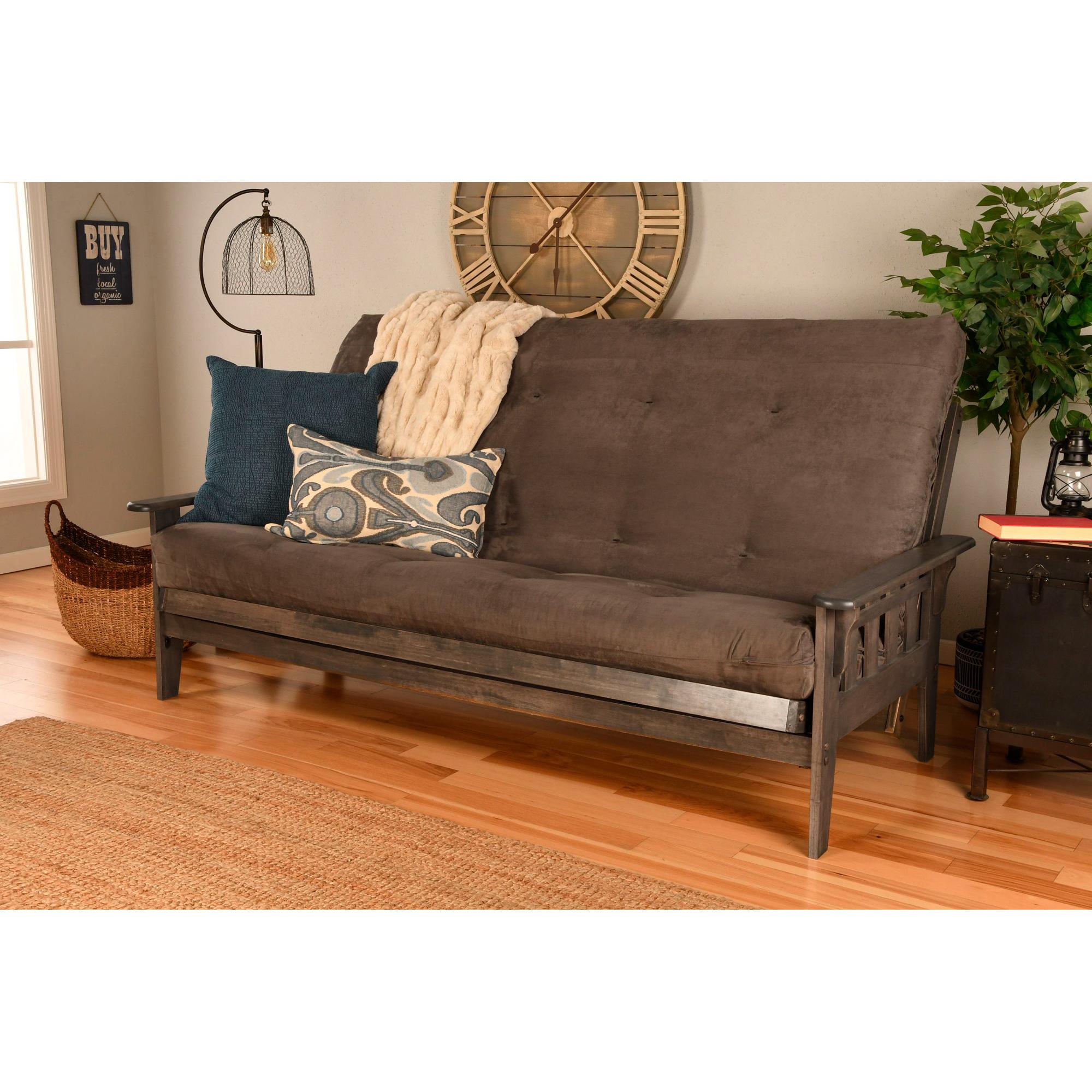 Kodiak Furniture | Tucson Rustic Walnut Queen Futon
