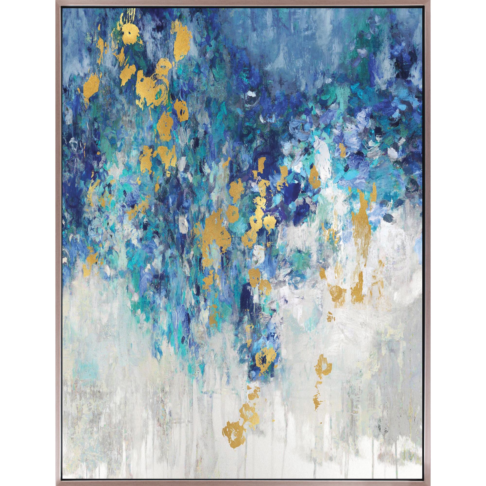 Art Effects | Cascading Blues II Wall Art