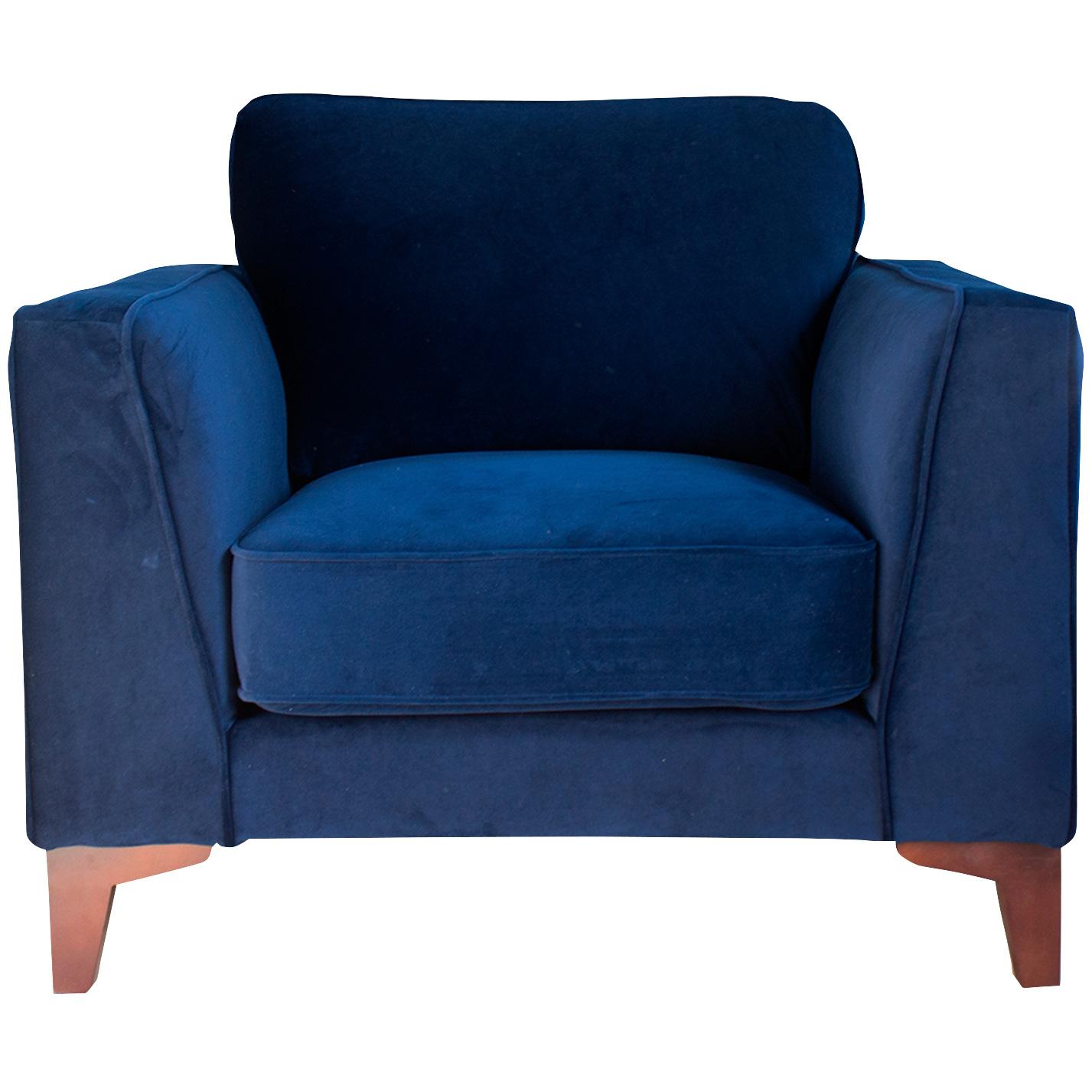 Urban Chic Upholstery | Bradley MIdnight Chair
