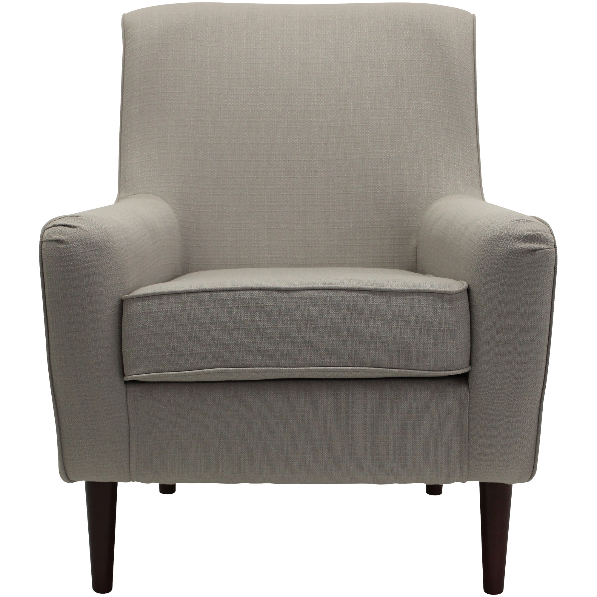 Overman | Laura Taupe Accent Chair