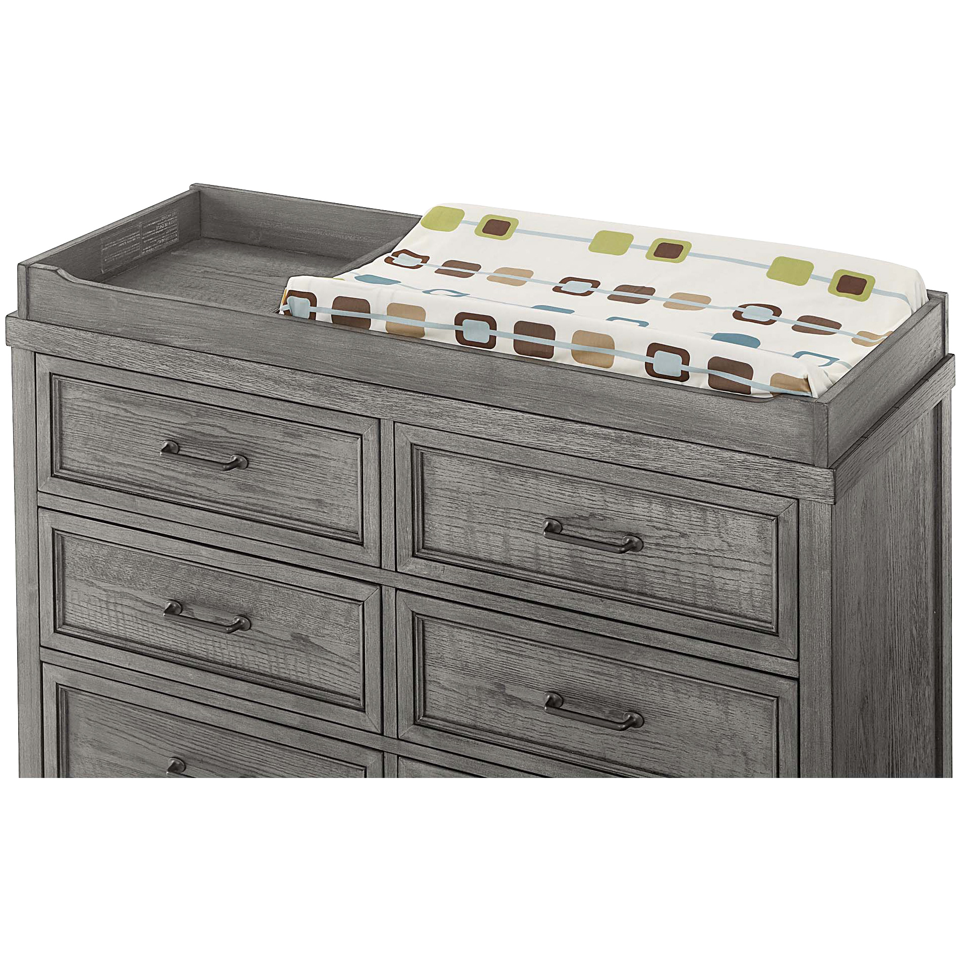 Westwood Design | Foundry Brushed Pewter Changer Top