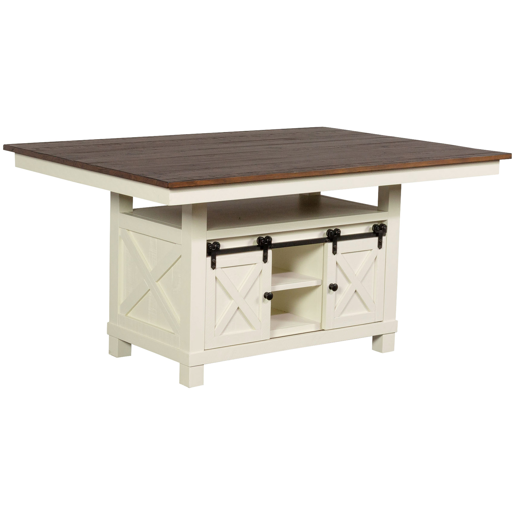 A America | Sun Valley White Dining Table