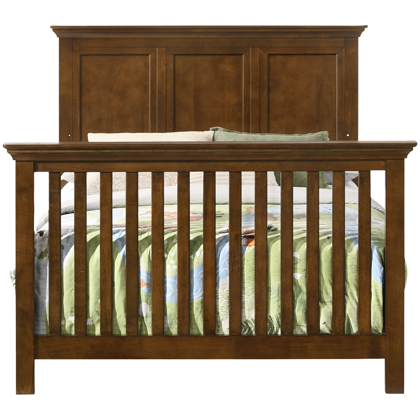 Westwood Design | San Mateo Brown Full Bed Conversion Kit