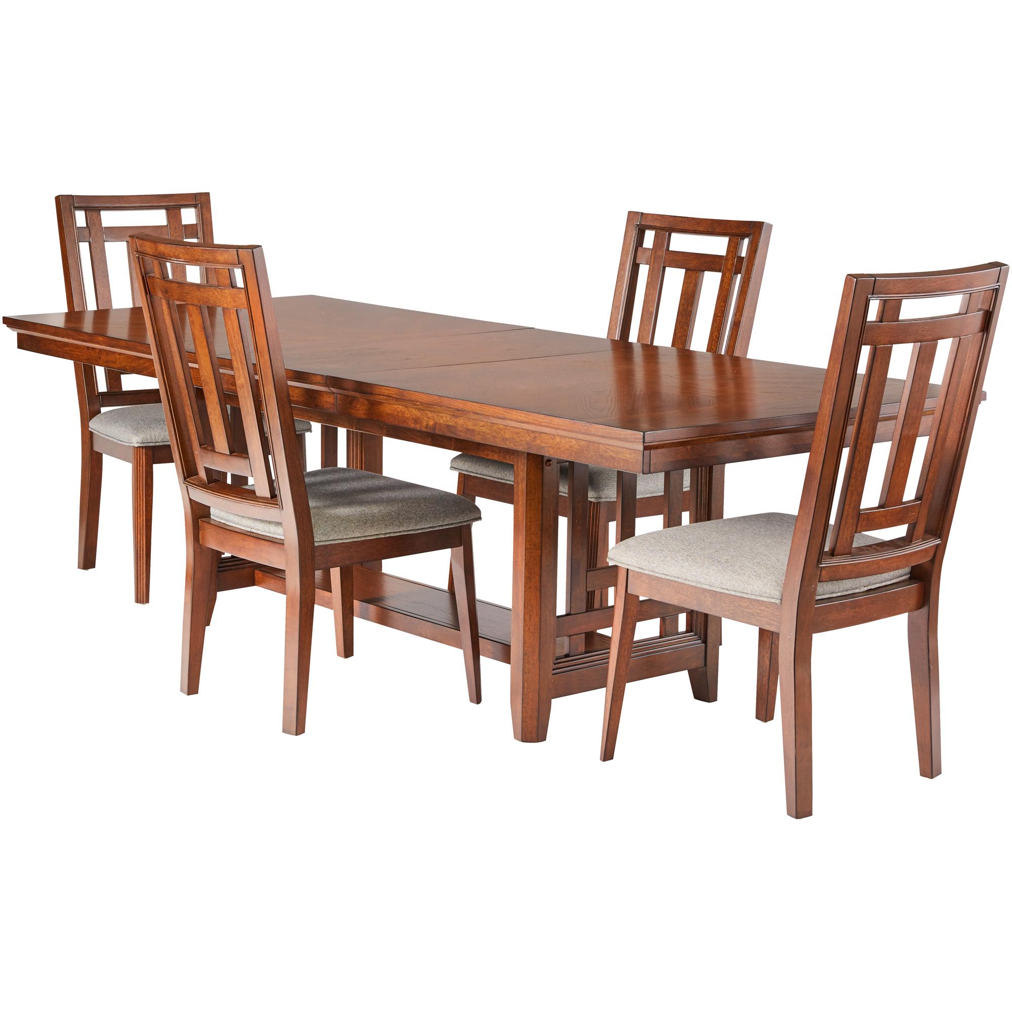Davis Direct | Acorn Hill Brown 5 Piece Dining Set