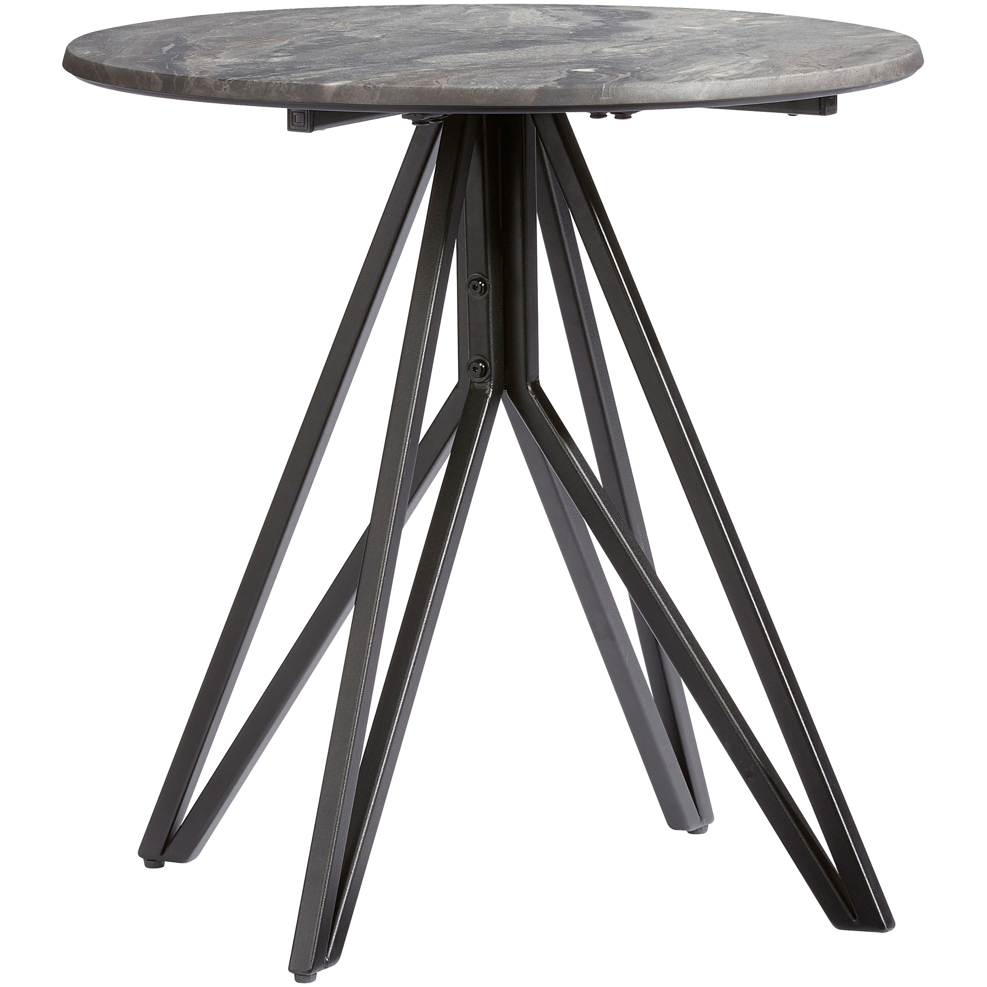 Progressive | Ember Gray End Table
