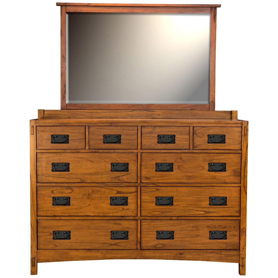 A America | Mission Hills Harvest Oak Dresser