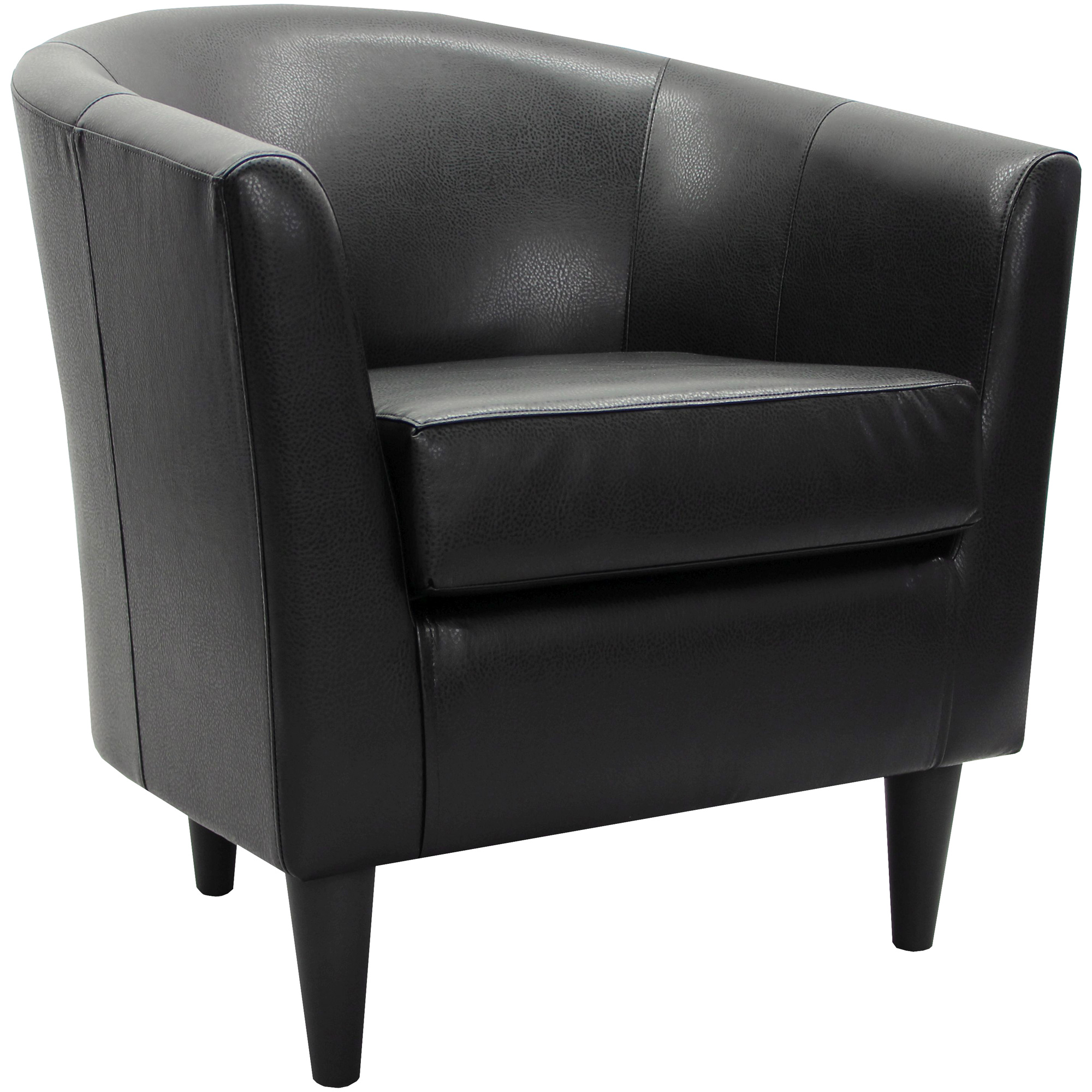 Overman   Windsor Black Accent Chair