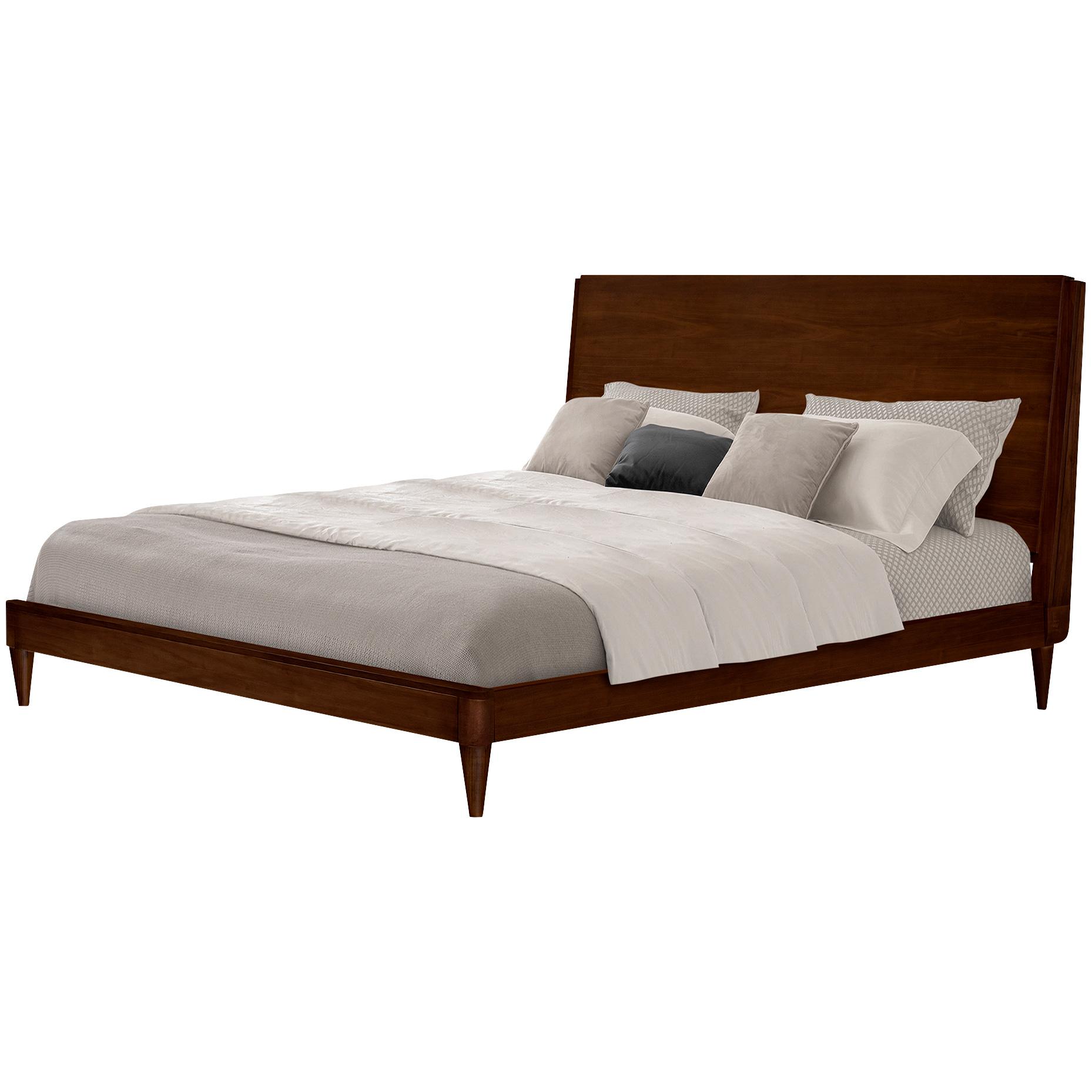 Issa Muebles | Urbana Walnut King Loft Panel Bed