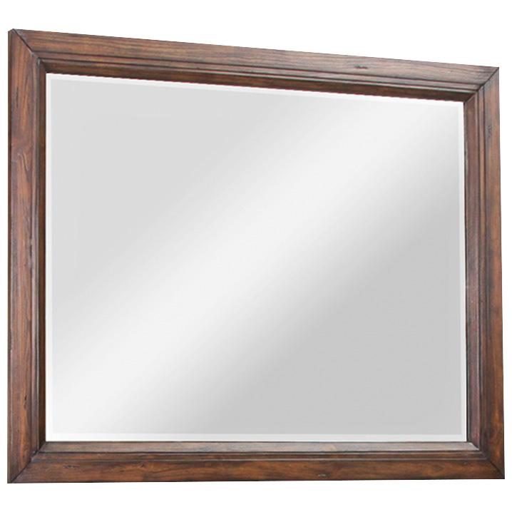 Legends   Branson Rustic Buckeye Mirror