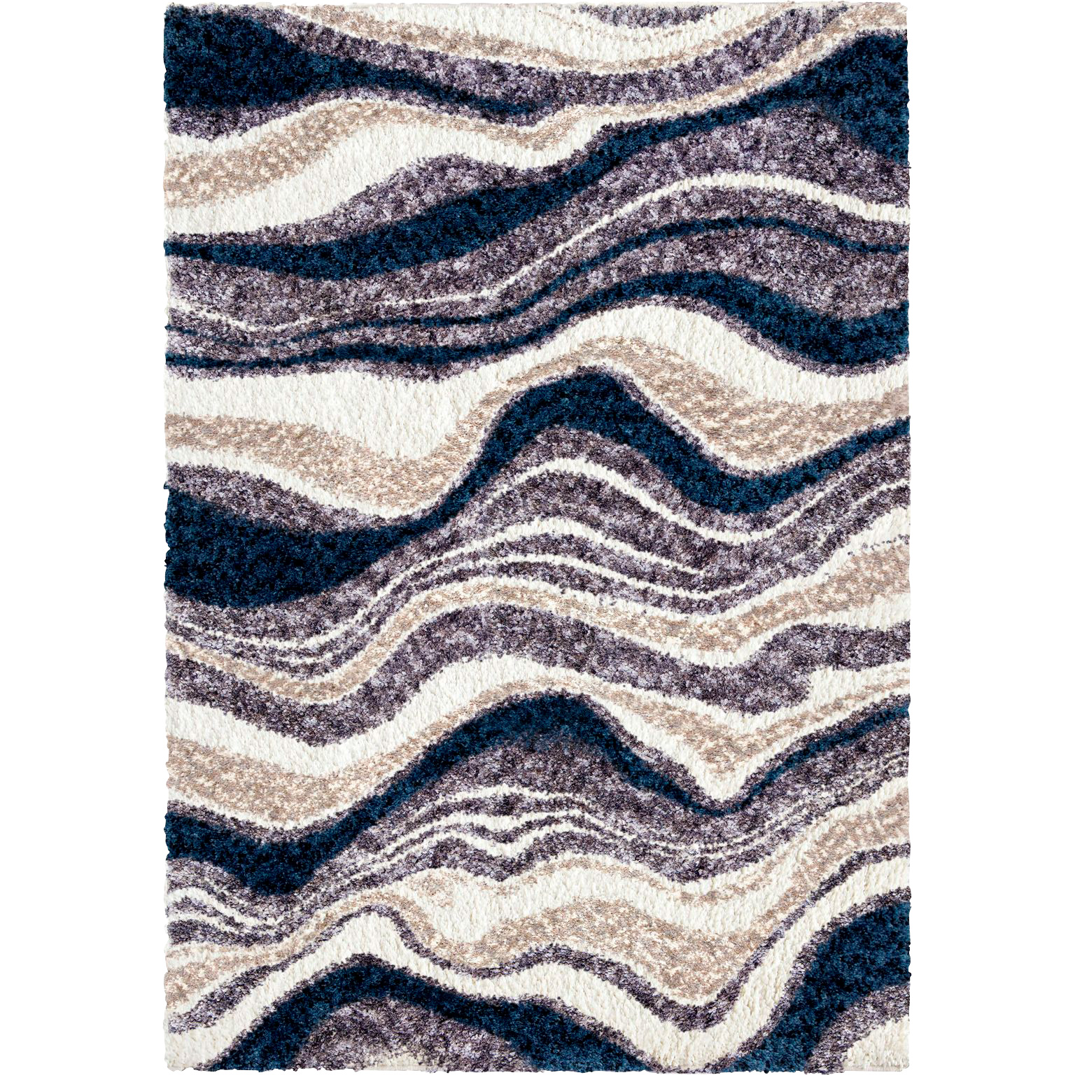 Orian | Cotton Tail Agate Denim 5x8 Area Rug