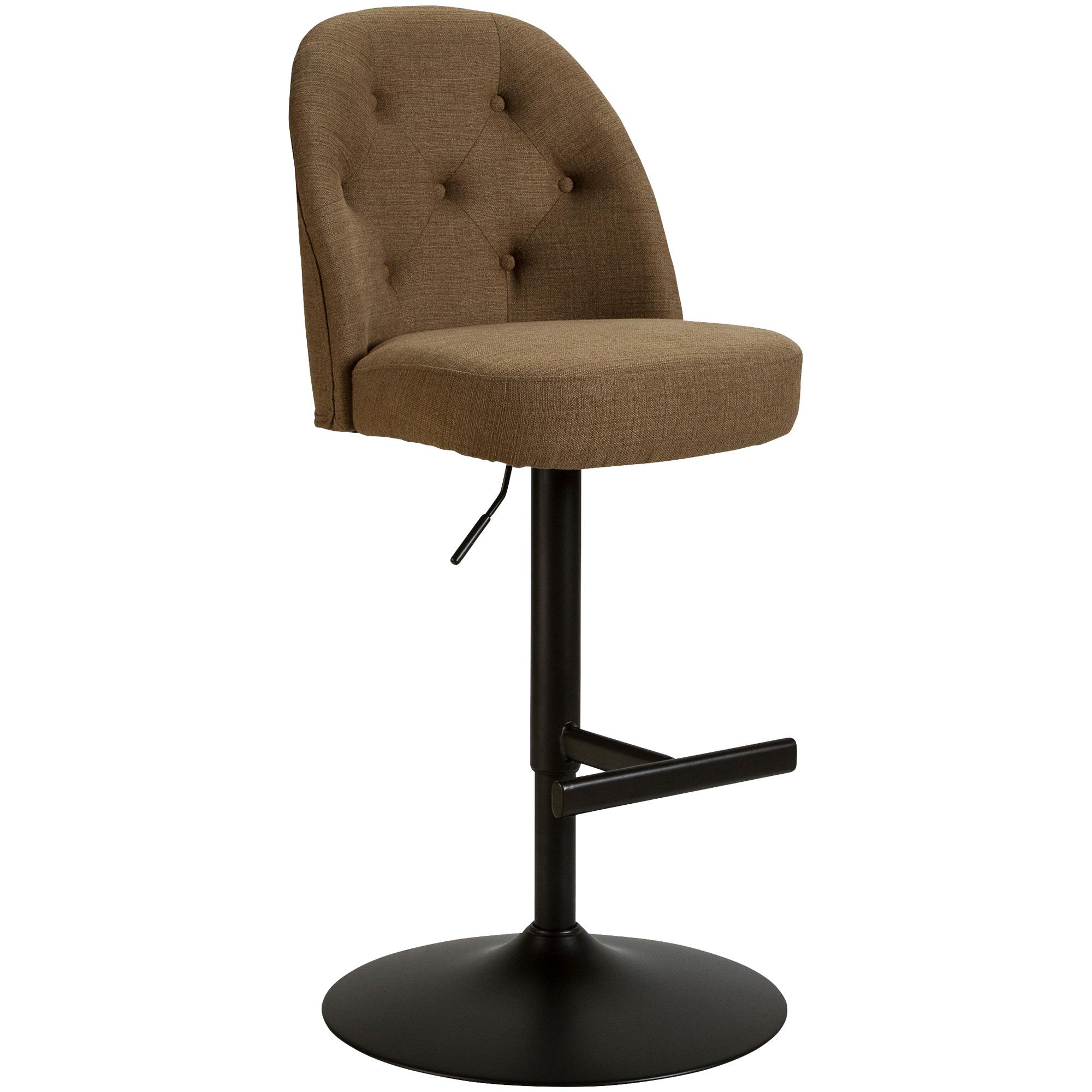 Whalen Furniture | Bowe Brown Adjustable Stool