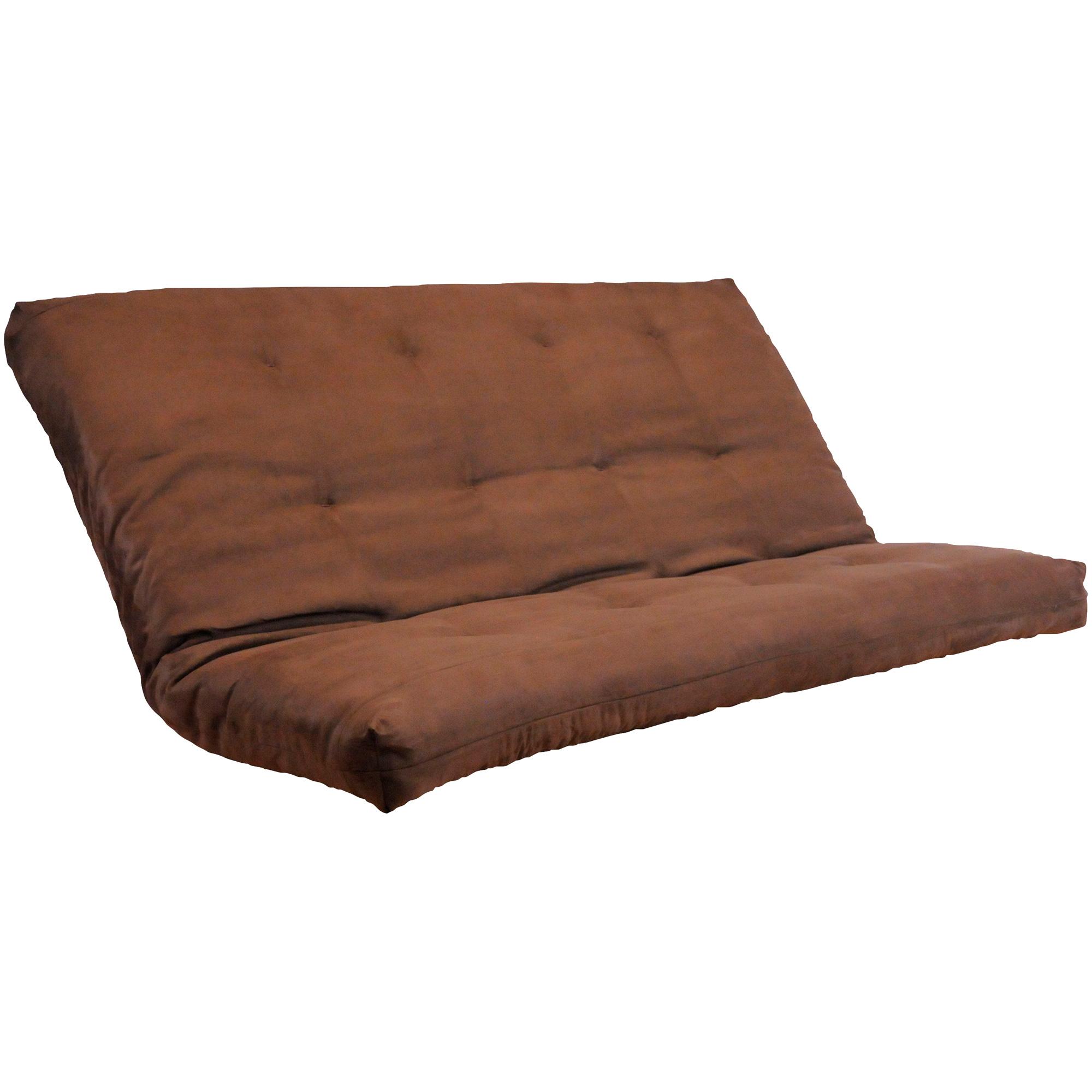 Kodiak Furniture | Microsuede Chocolate Queen Futon Mattress