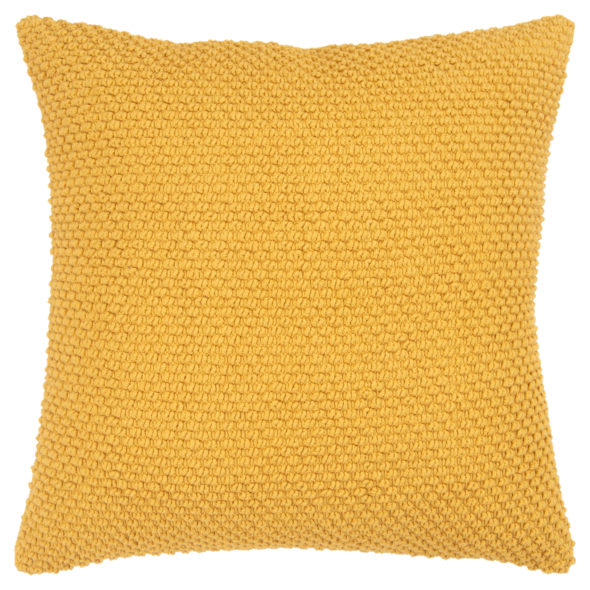 Rizzy Home | Aztec Yellow Textured Down Pillow