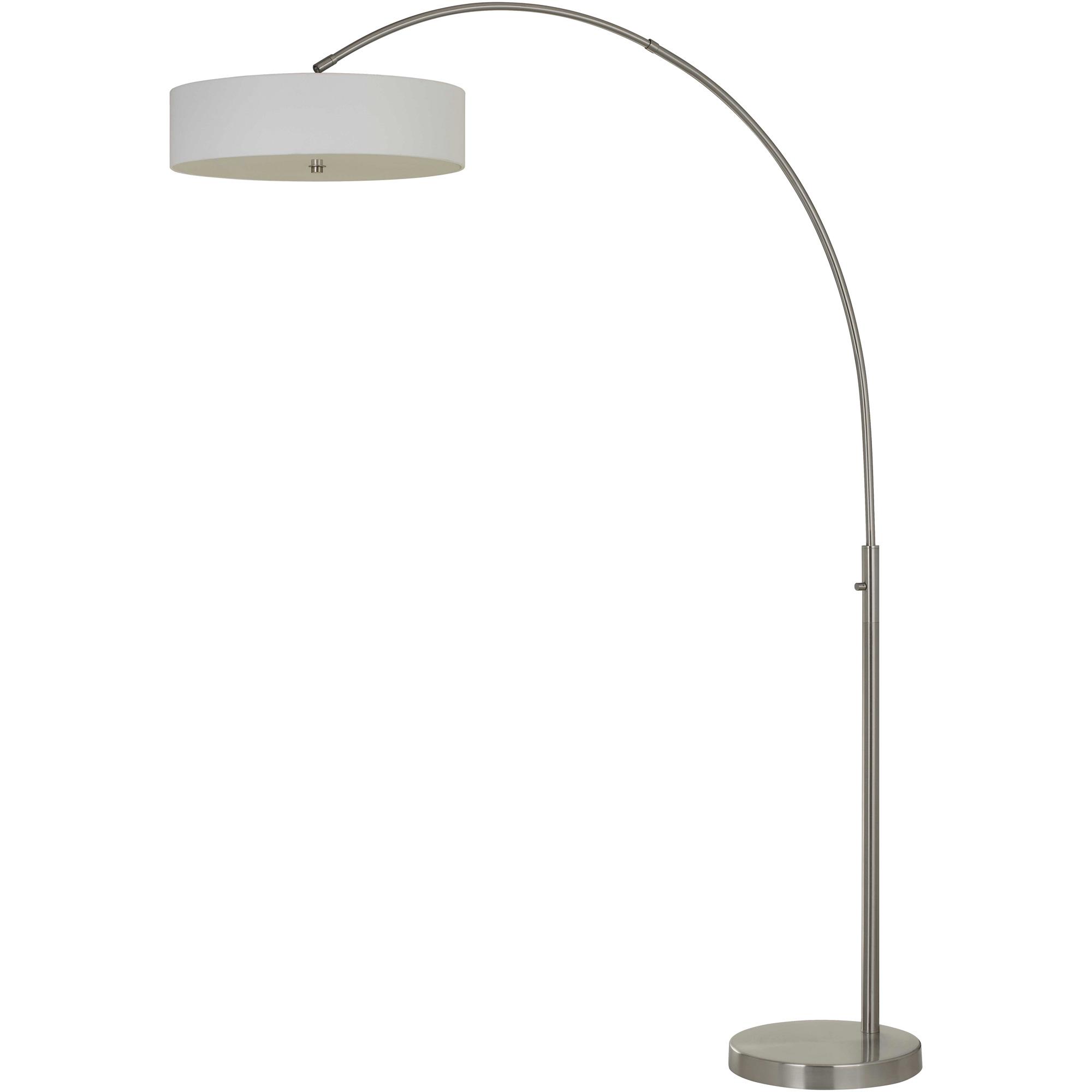 Cal Lighting | Chardon Silver Floor Lamp