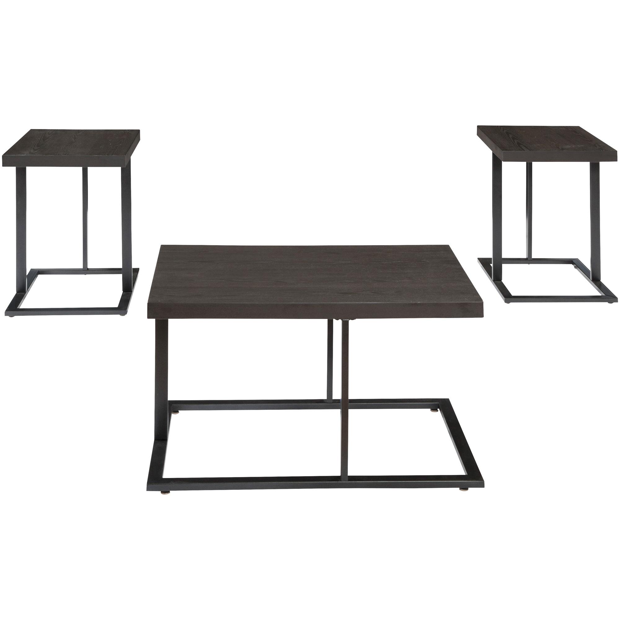Ashley Furniture | Airdon Bronze Set of 3 Tables