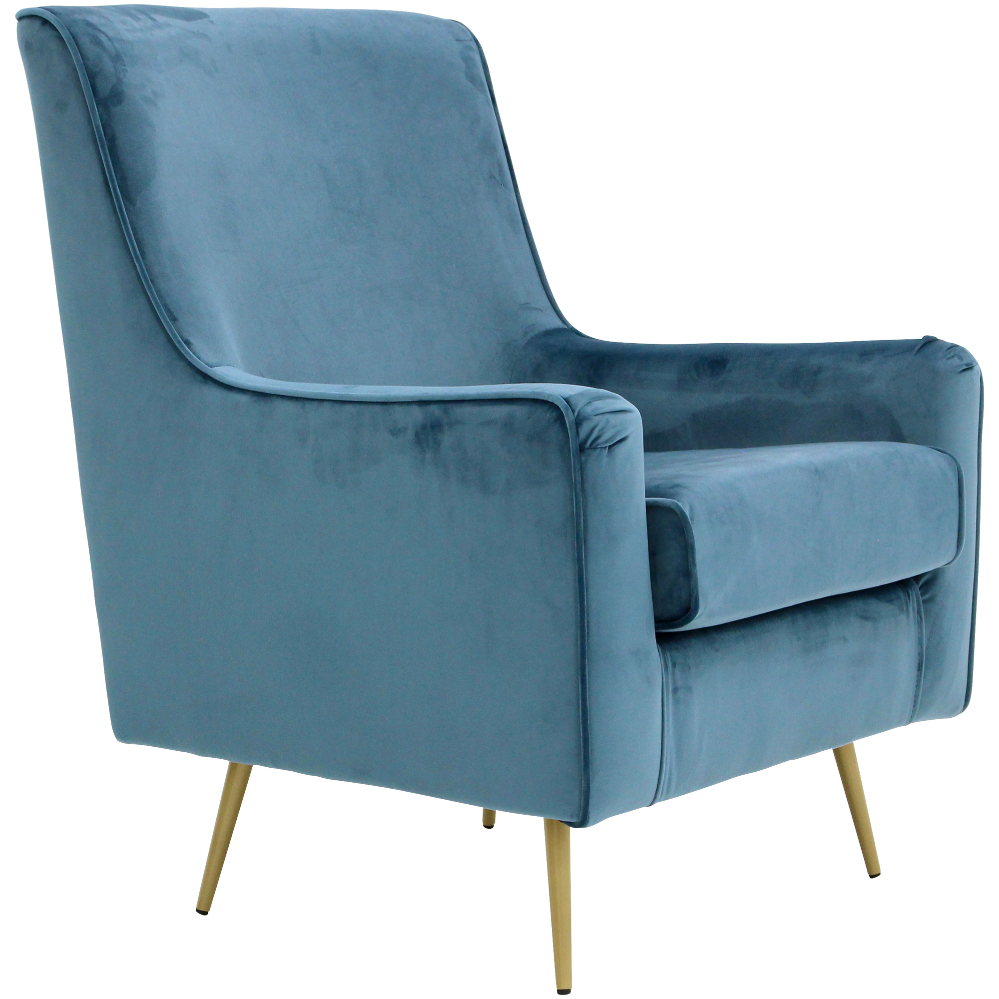 Overman | Lana Teal Accent Chair