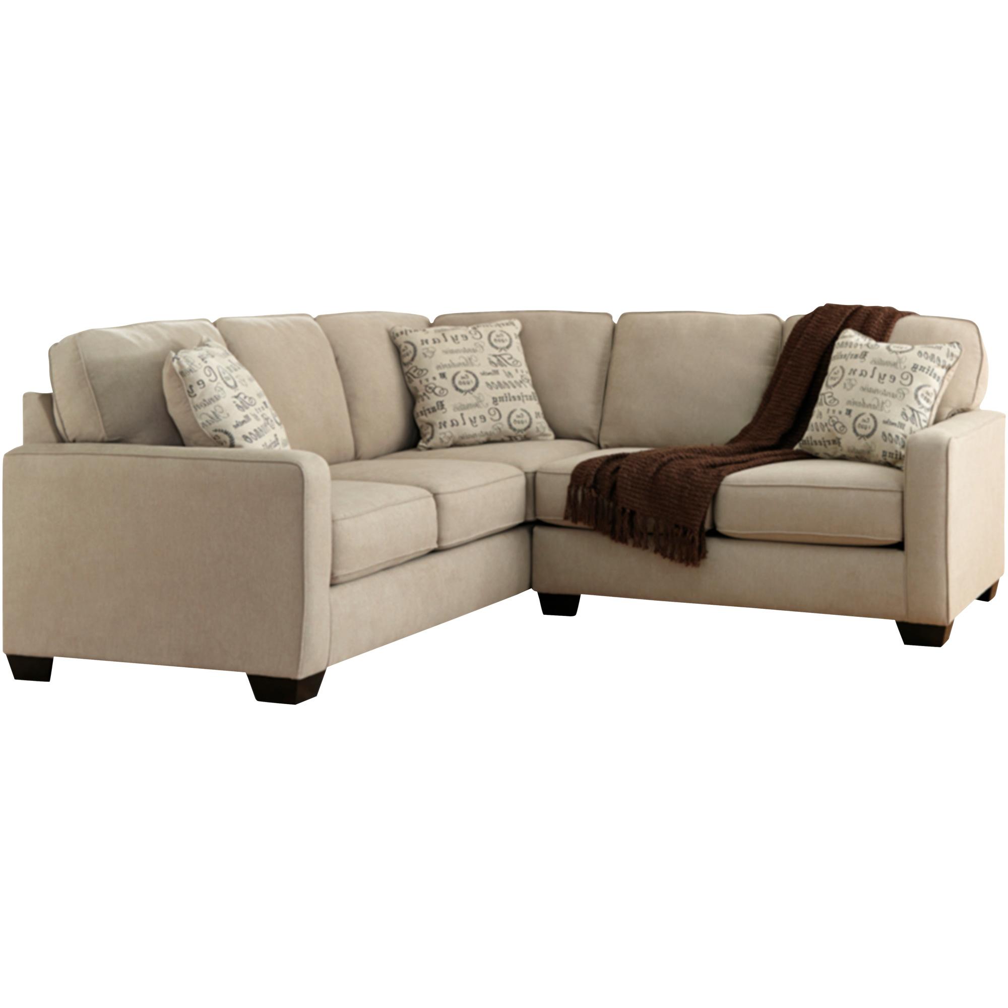 Ashley Furniture | Alenya Quartz 2 Piece Right Sectional Sofa
