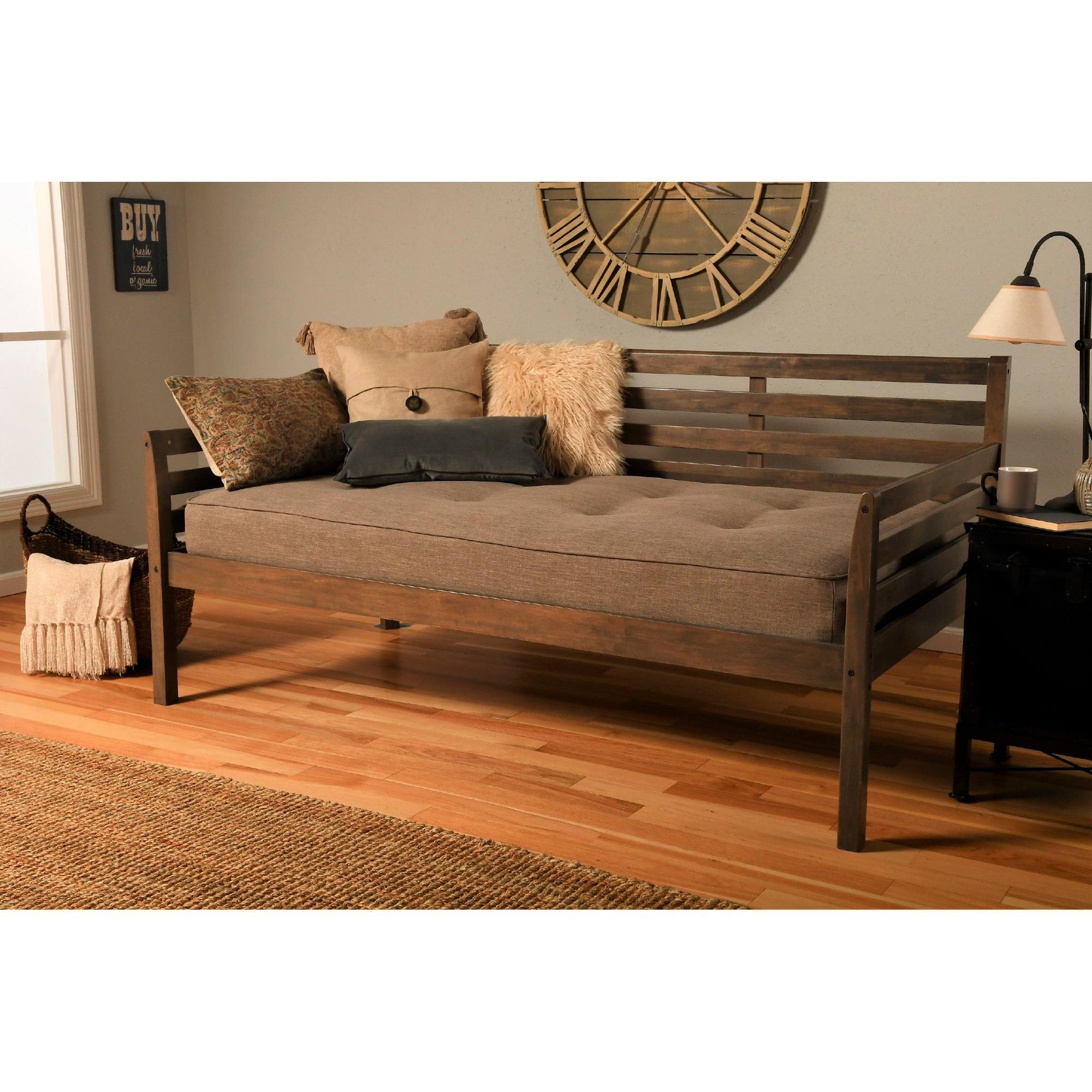 Kodiak Furniture | Boho Rustic Walnut Daybed