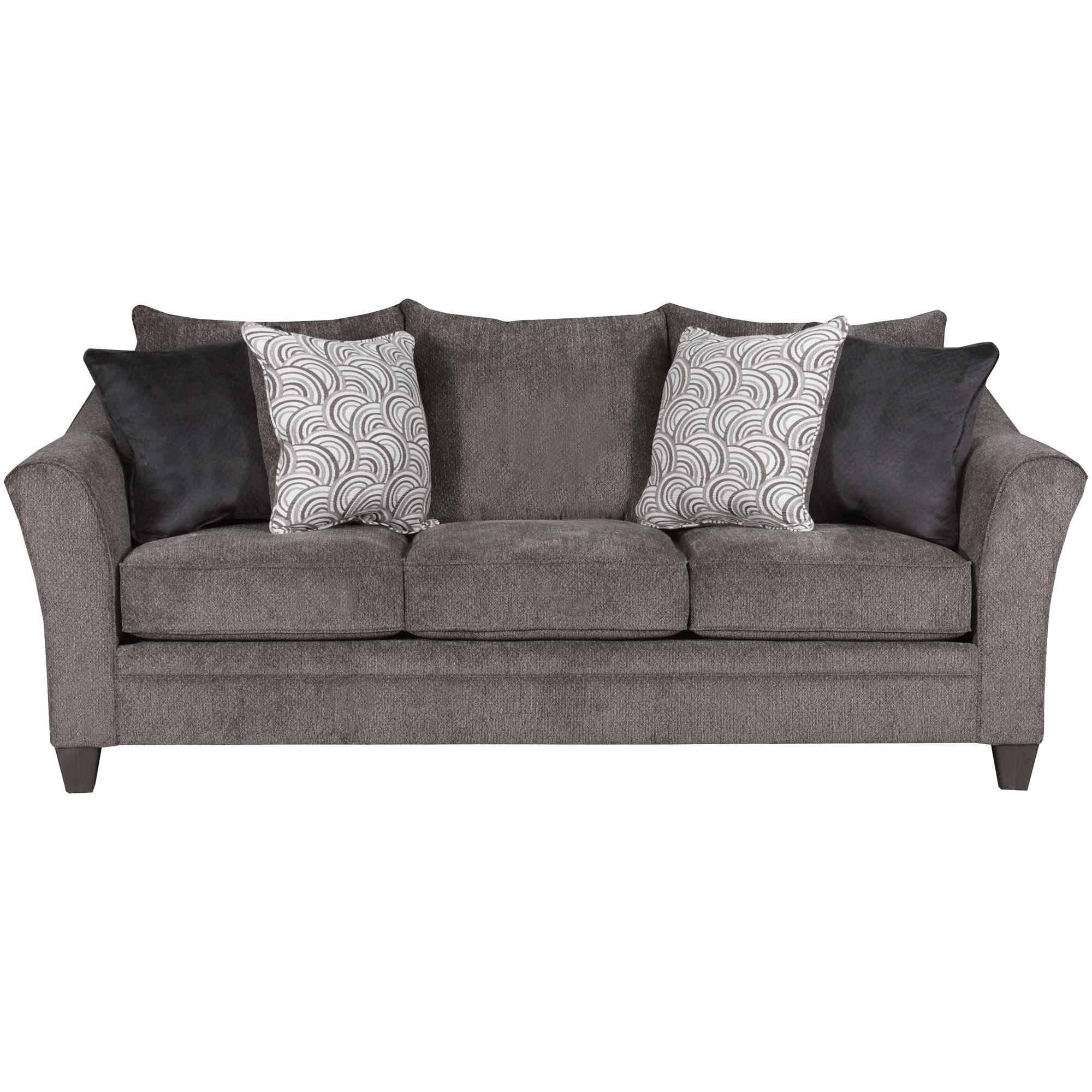 Lane Home Furnishings | Dash Pewter Sofa