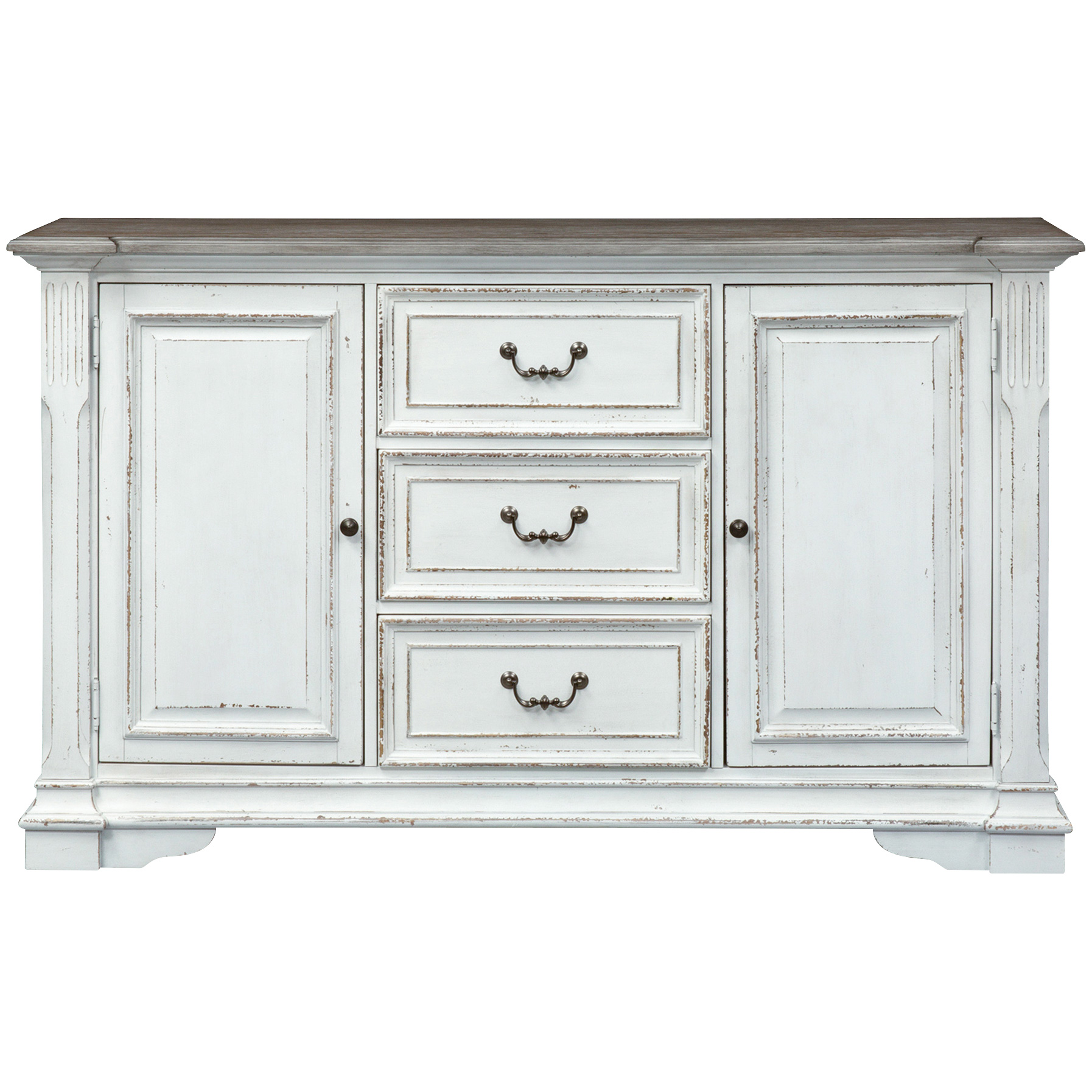 Liberty Furniture | Abbey Park White Buffet