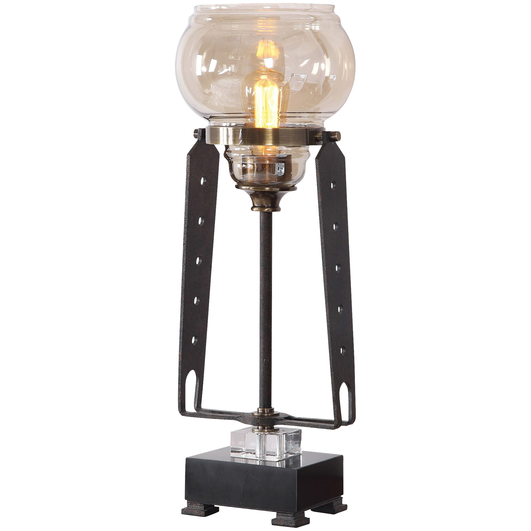 Uttermost | Curie Iron Industrial Accent Lamp