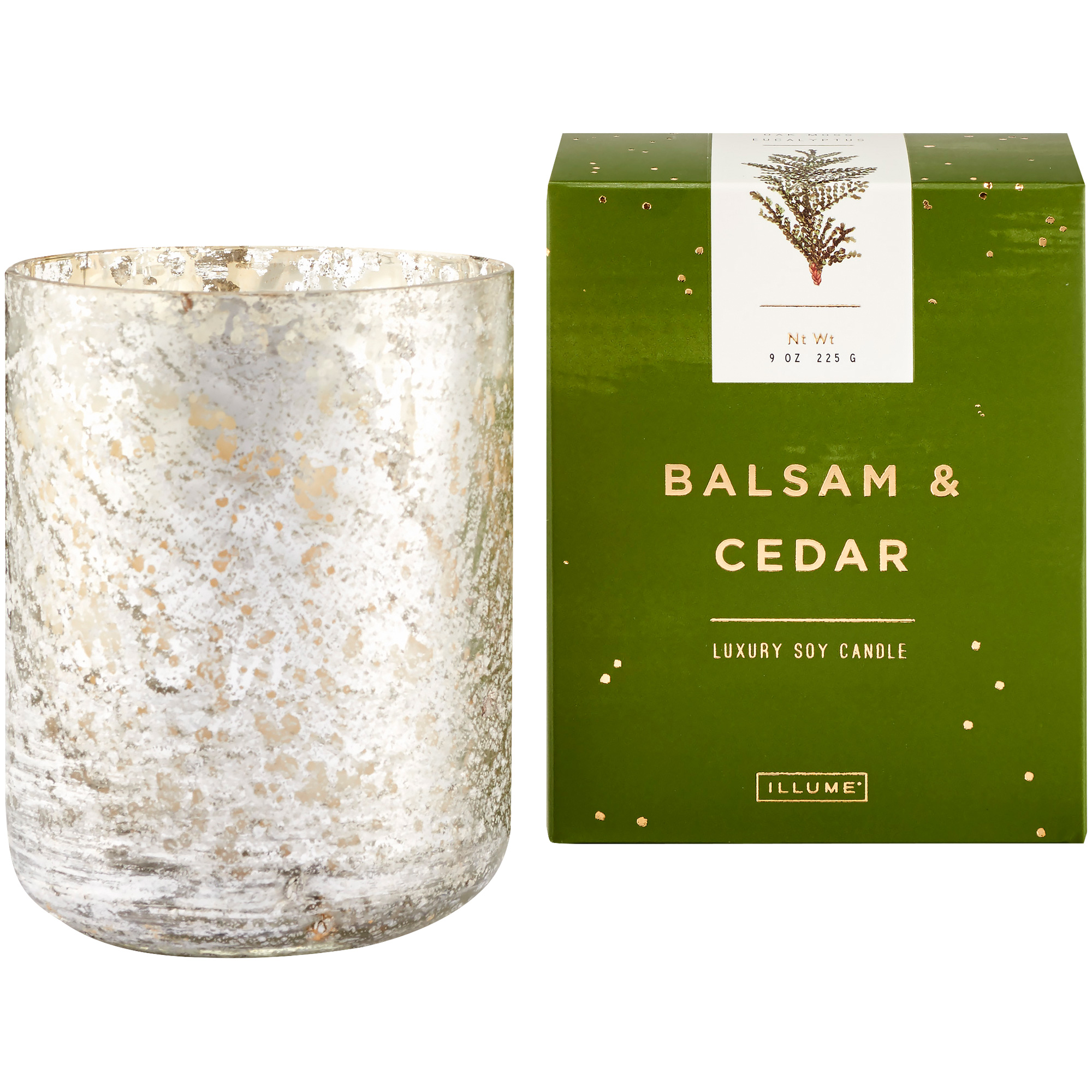 Illume | Noble Holiday Balsam and Cedar Luxe Tumbler