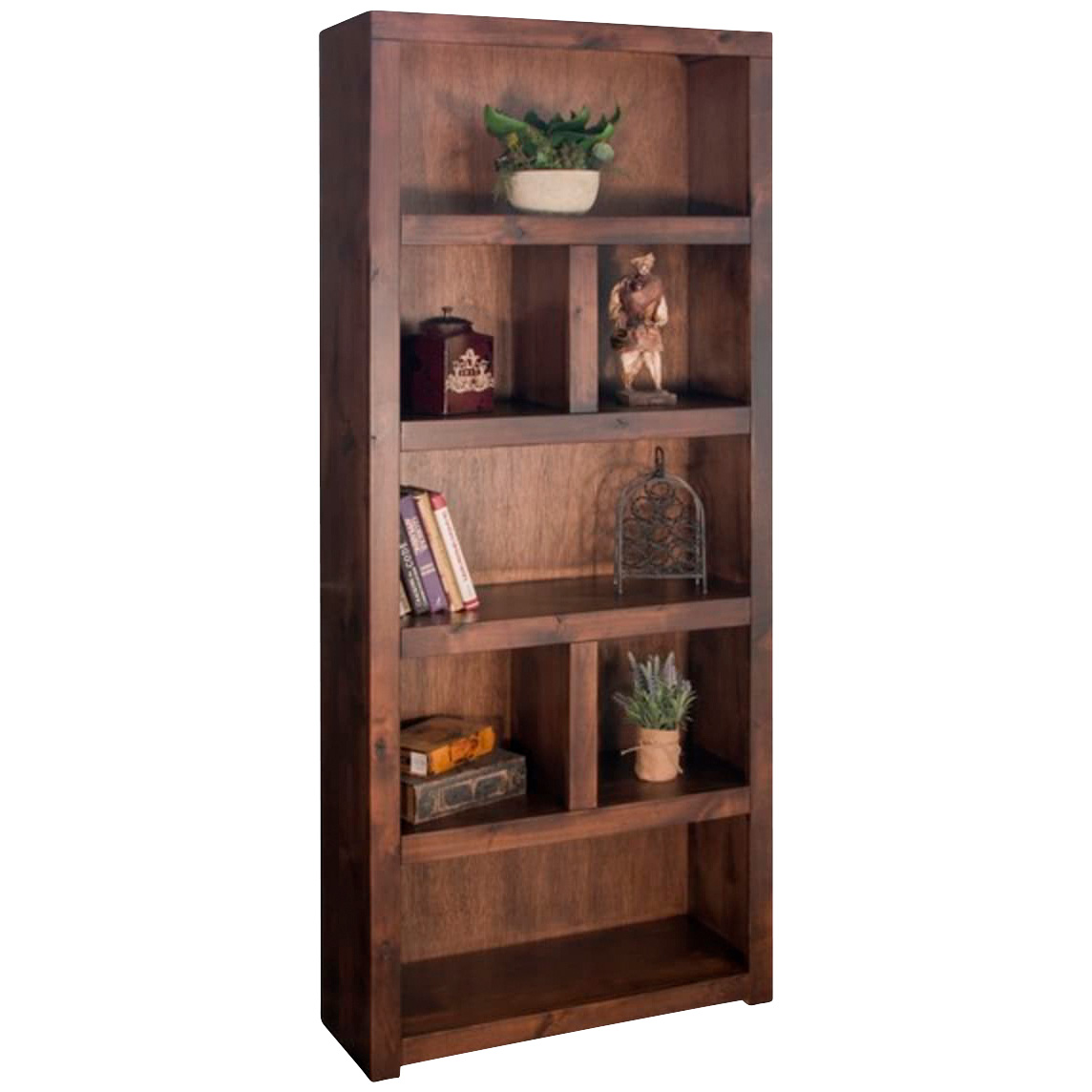 """""""Legends   Sausalito Whiskey 80"""""""" Bookcase"""""""