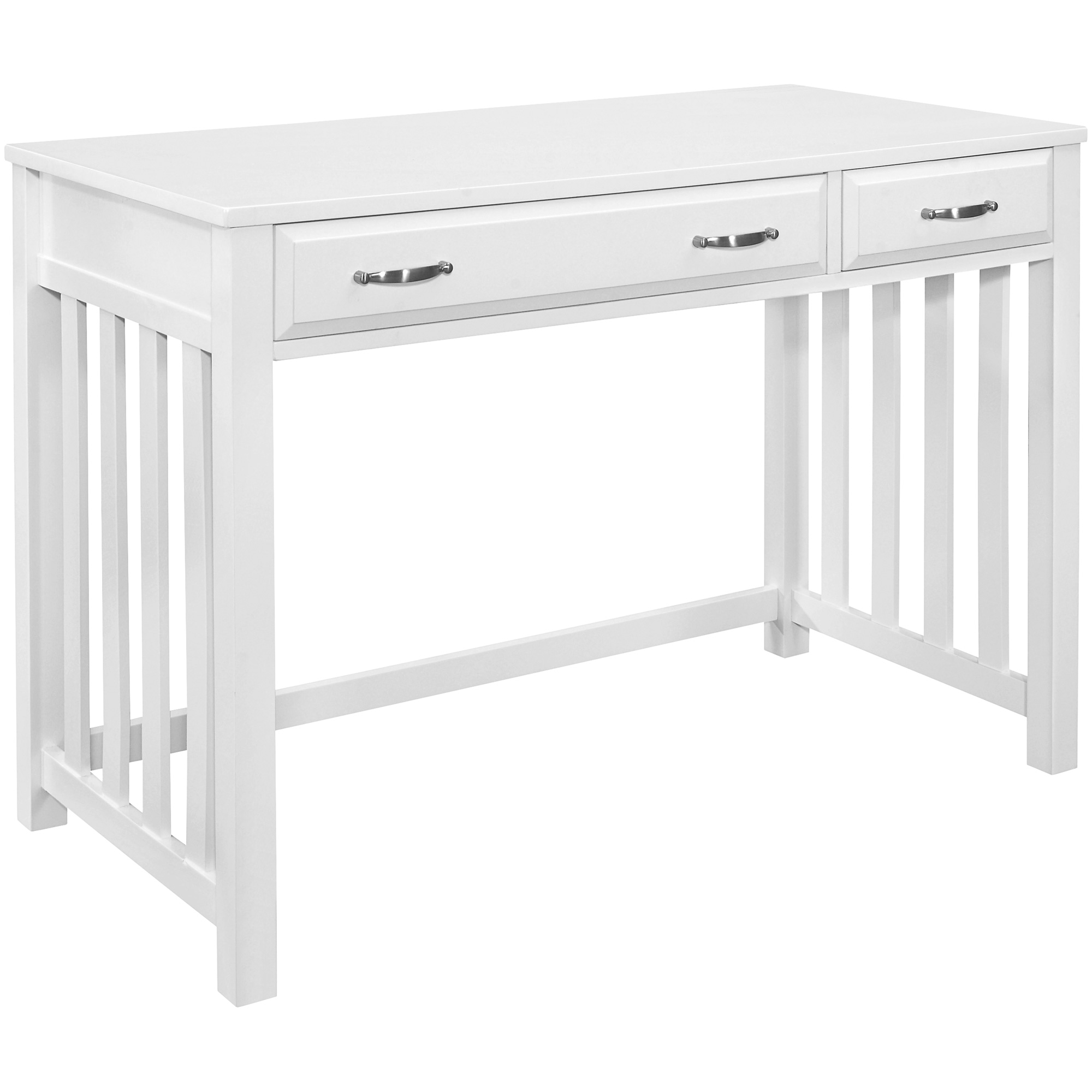 Top Line | Blanche White 2 Drawer Desk
