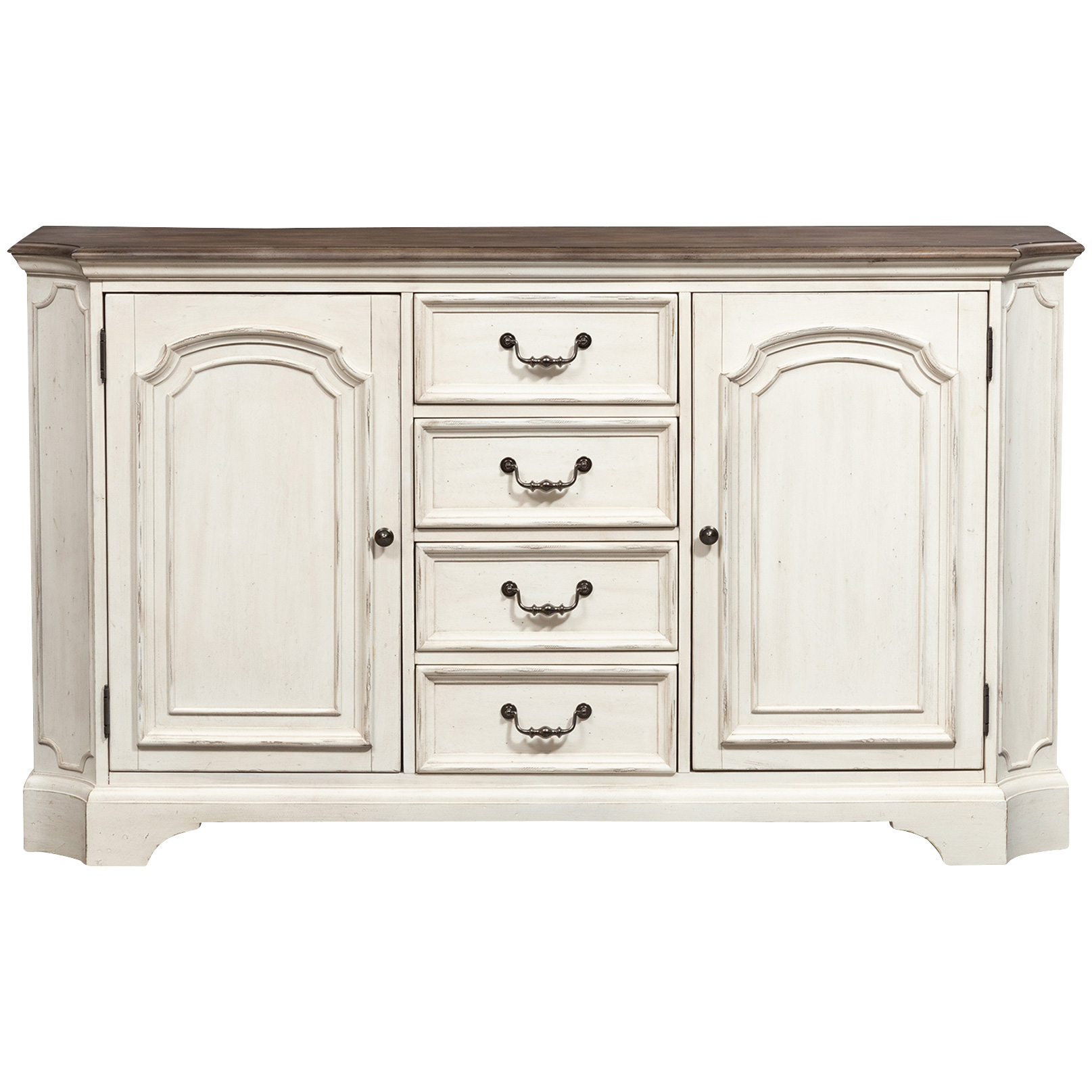 Liberty Furniture | Abbey Road White Buffet