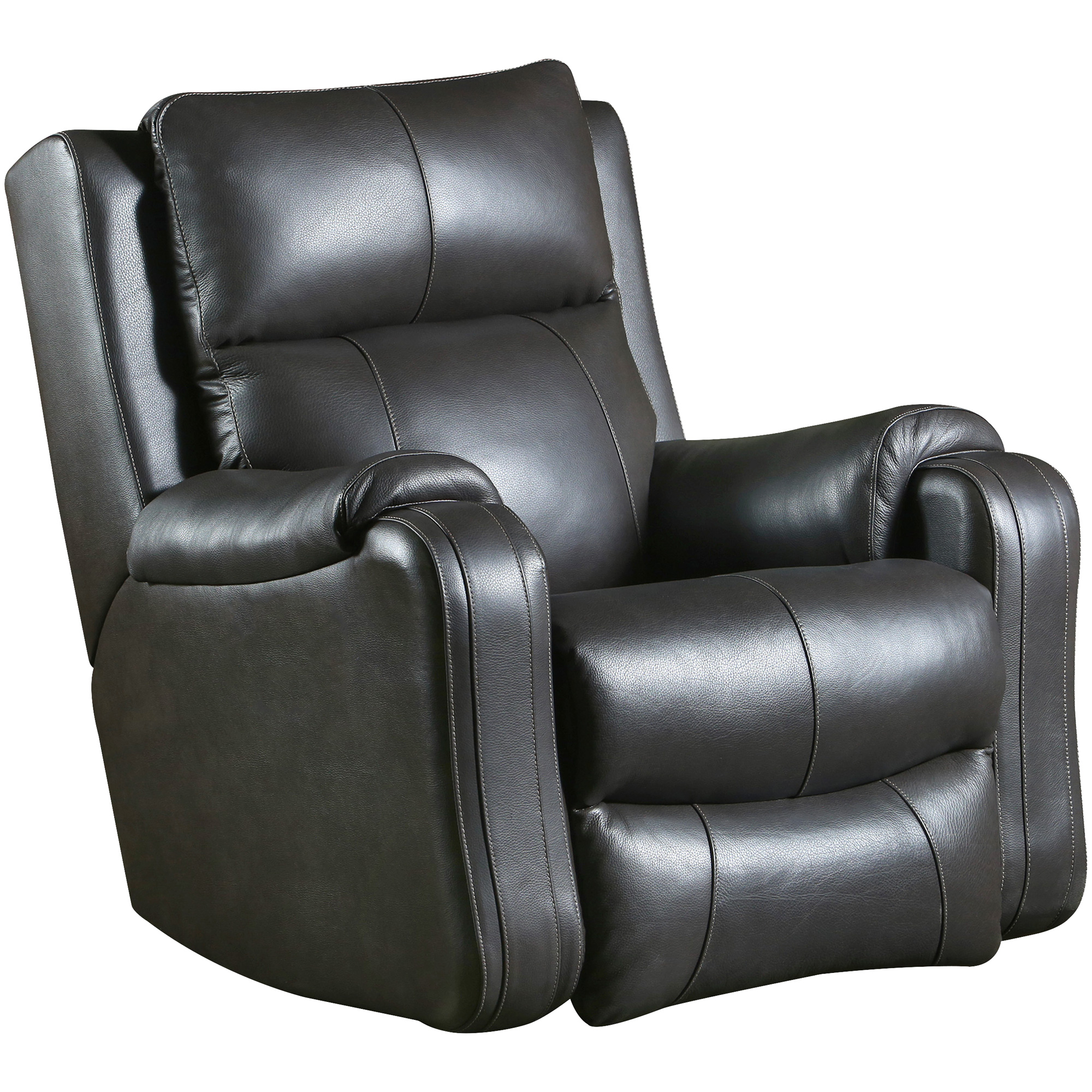Southern Motion | Contour Leather Fossil SoCozi Power+ Rocker Recliner Chair