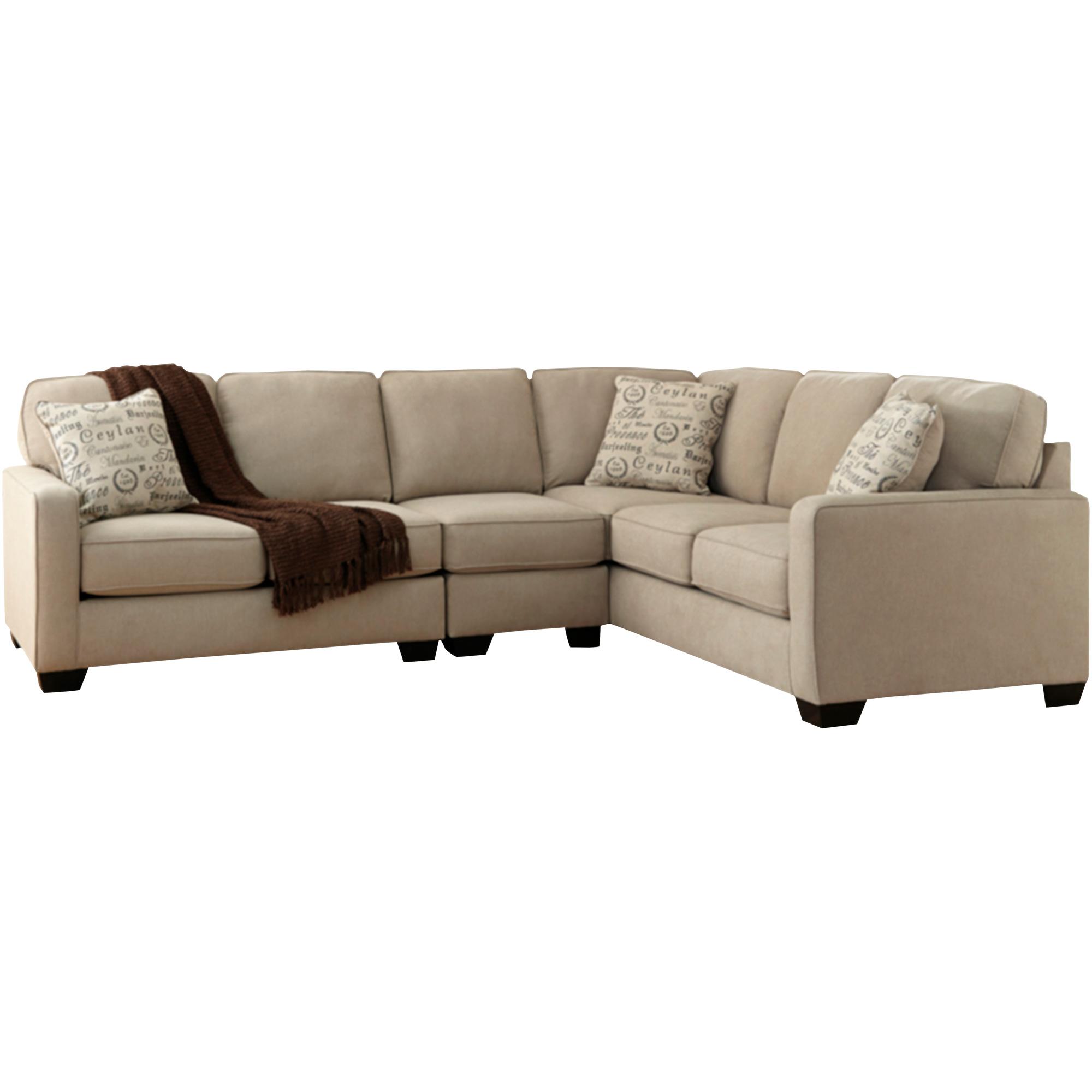 Ashley Furniture | Alenya Quartz 3 Piece Left Sectional Sofa