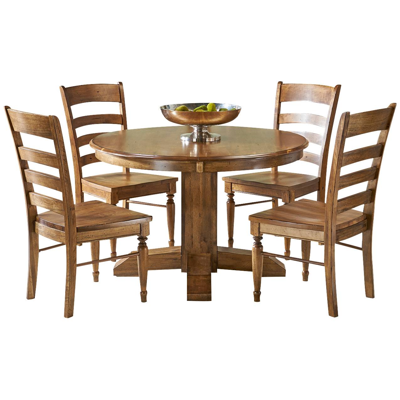 America | Bennett Smokey Quartz 5 Piece Dining Set