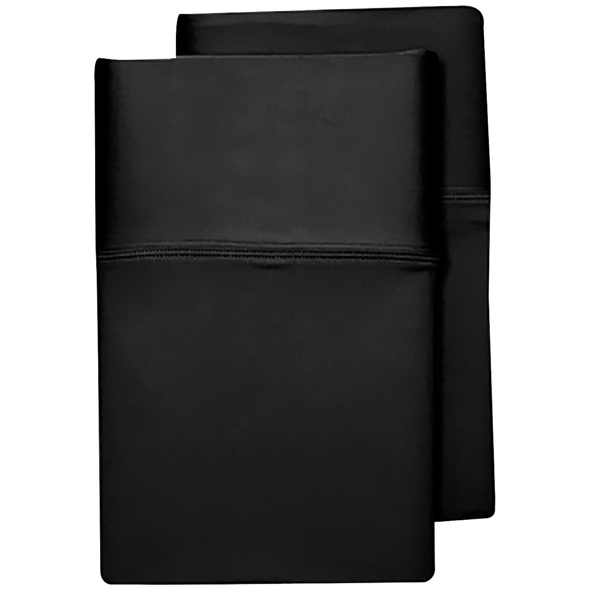Sheex Inc. | SHEEX Aero Fit Black King Pillowcase Set