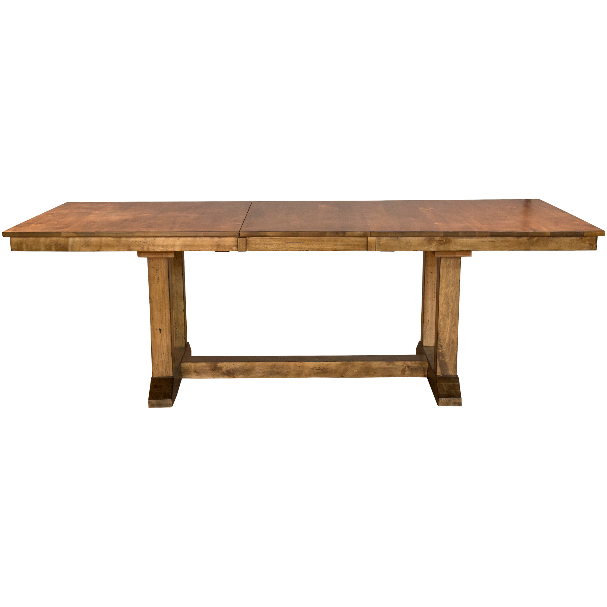 America | Bennett Smokey Quartz Trestle Dining Table
