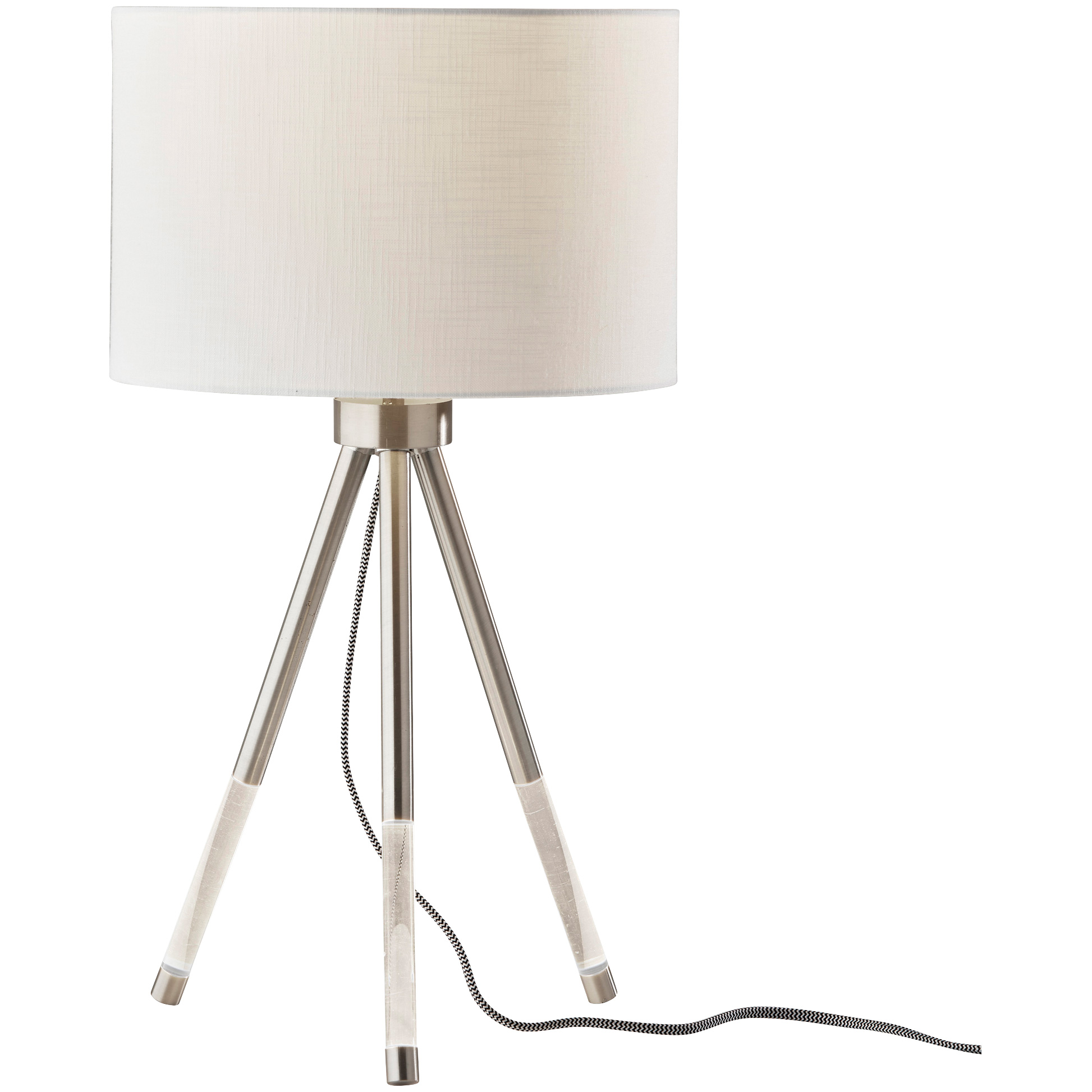 Adesso | Della Brushed Steel Table Lamp