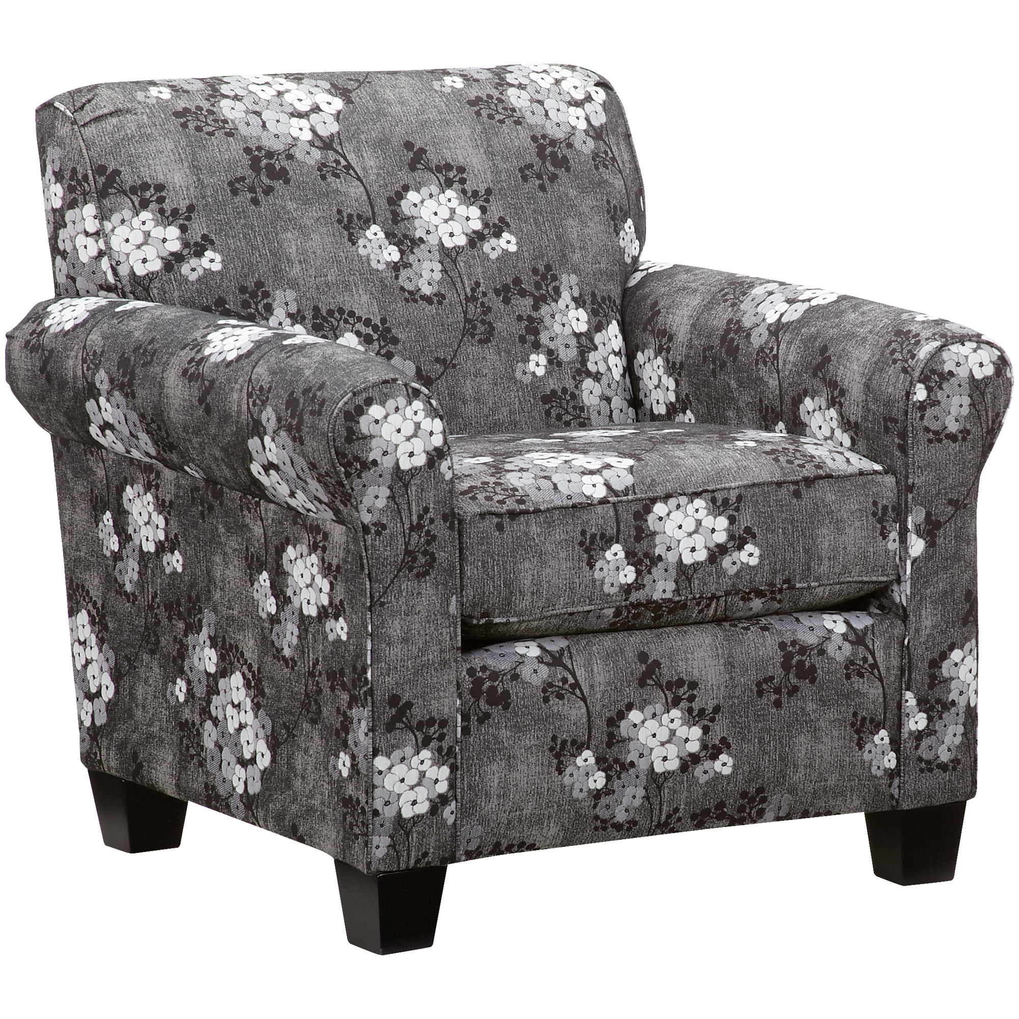 Dimensions By England   York Charcoal Chair