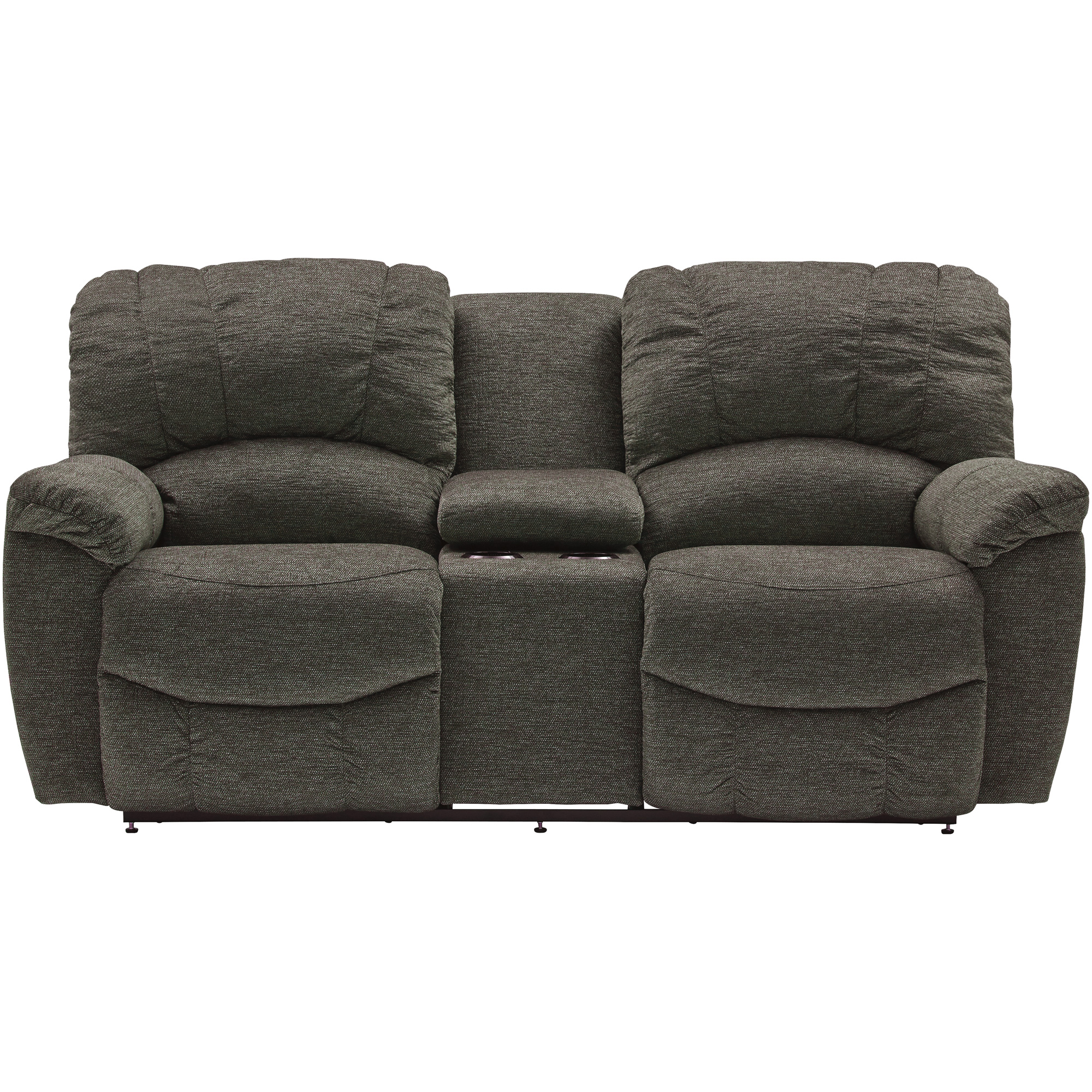 La-Z-Boy | Hayes Sable Reclining Console Loveseat Sofa