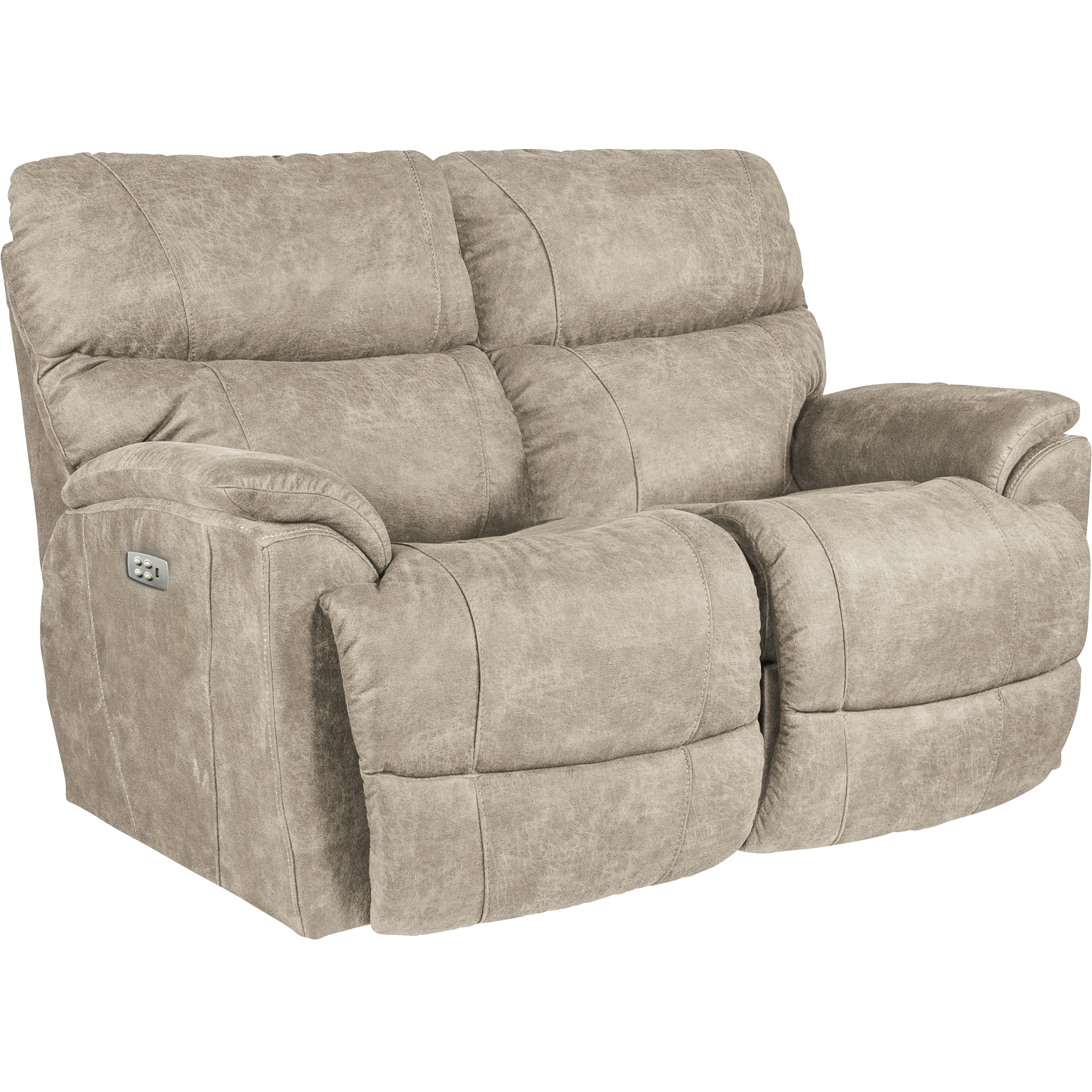 La-Z-Boy | Trouper Stucco Power Plus Reclining Loveseat Sofa