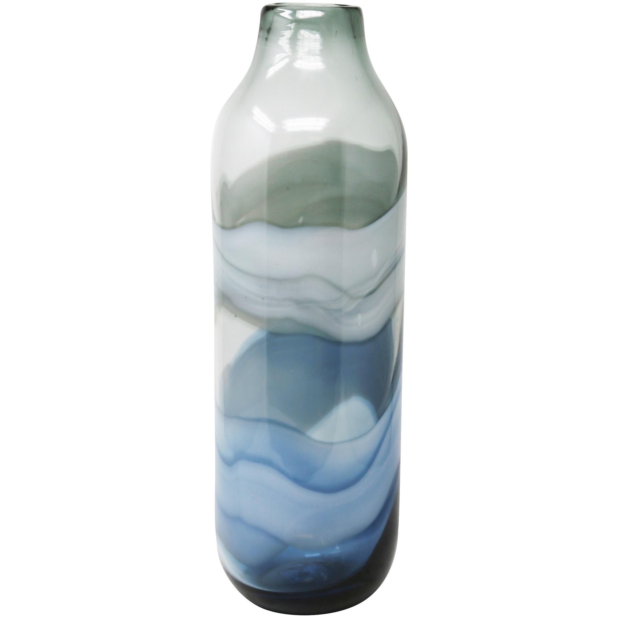 """Sagebrook | Elevated Chic 18"""" Glass Vase"""