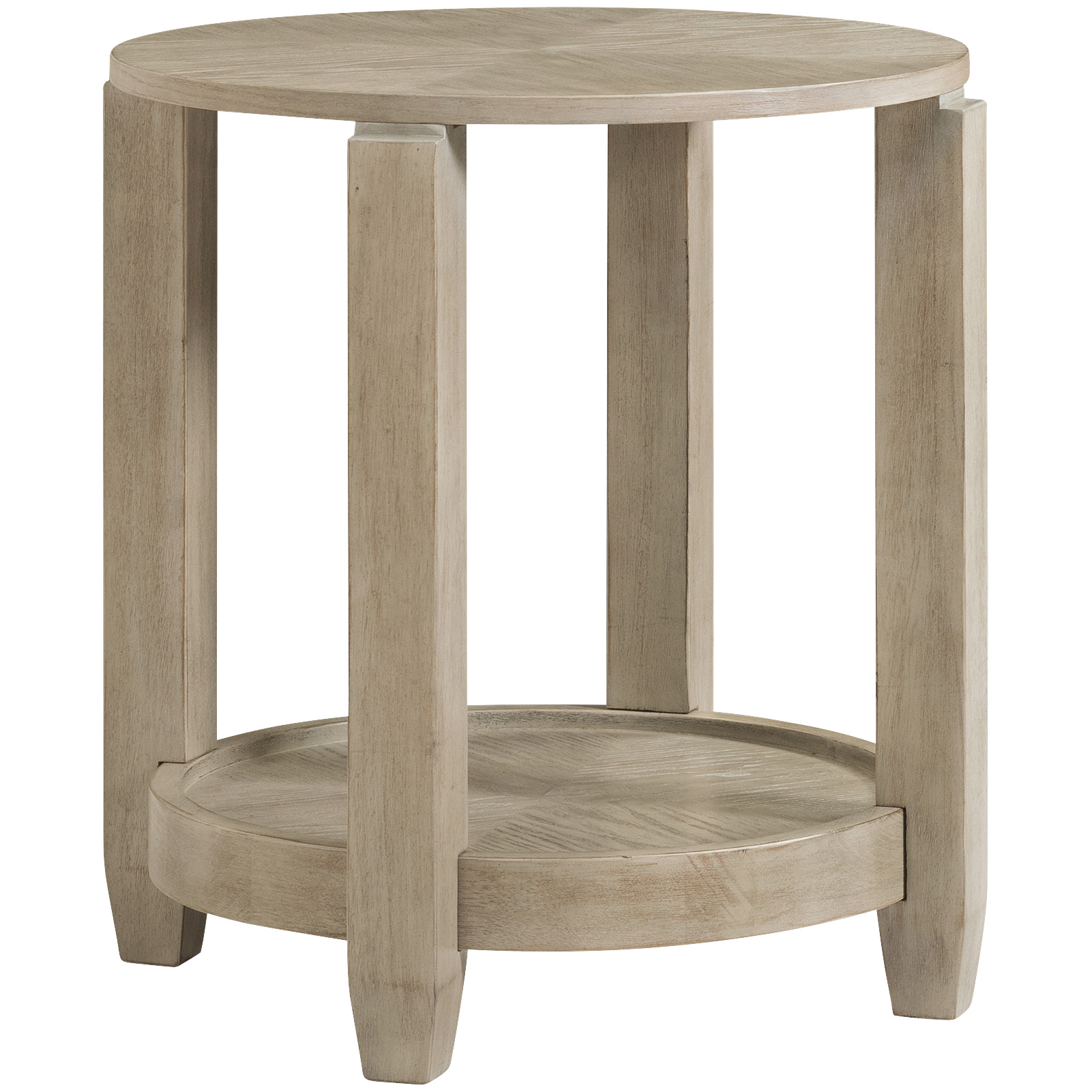 Bassett Mirror | Bellamy Gray End Table