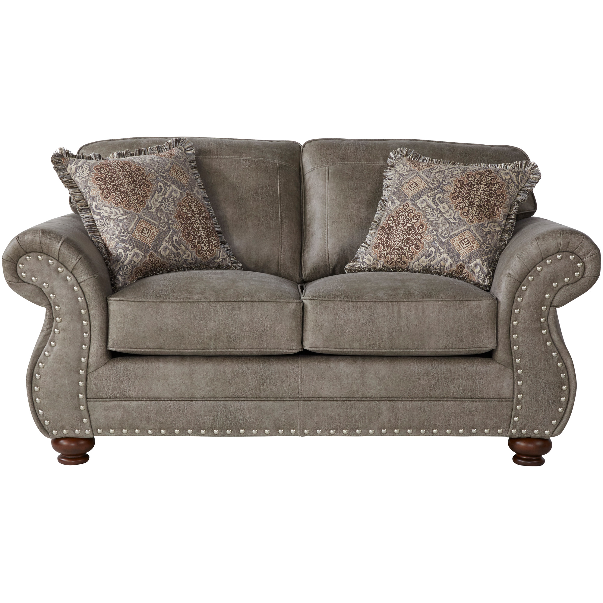 Serta Upholstery By Hughes Furniture | Bester Golitha Mica Loveseat Sofa
