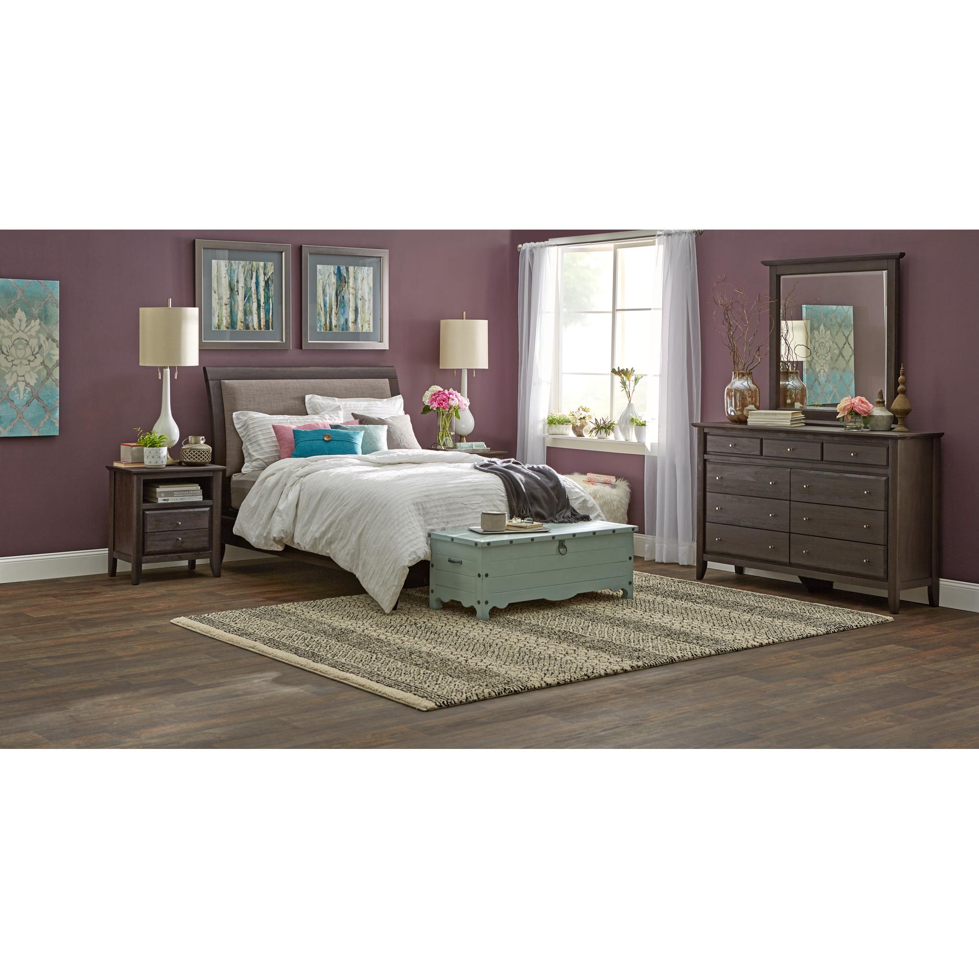 Modus Furniture International | City II Basalt Queen 4 Piece Room Group Bedroom Set