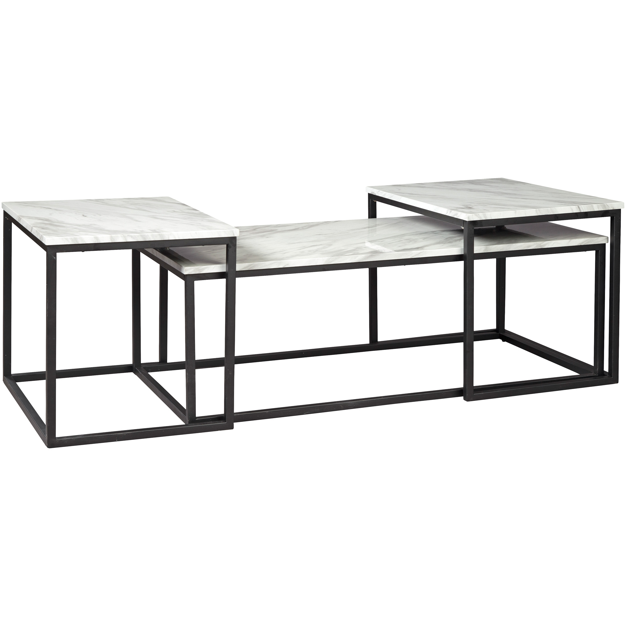 Ashley | Donnesta Gray 3 Pack Tables