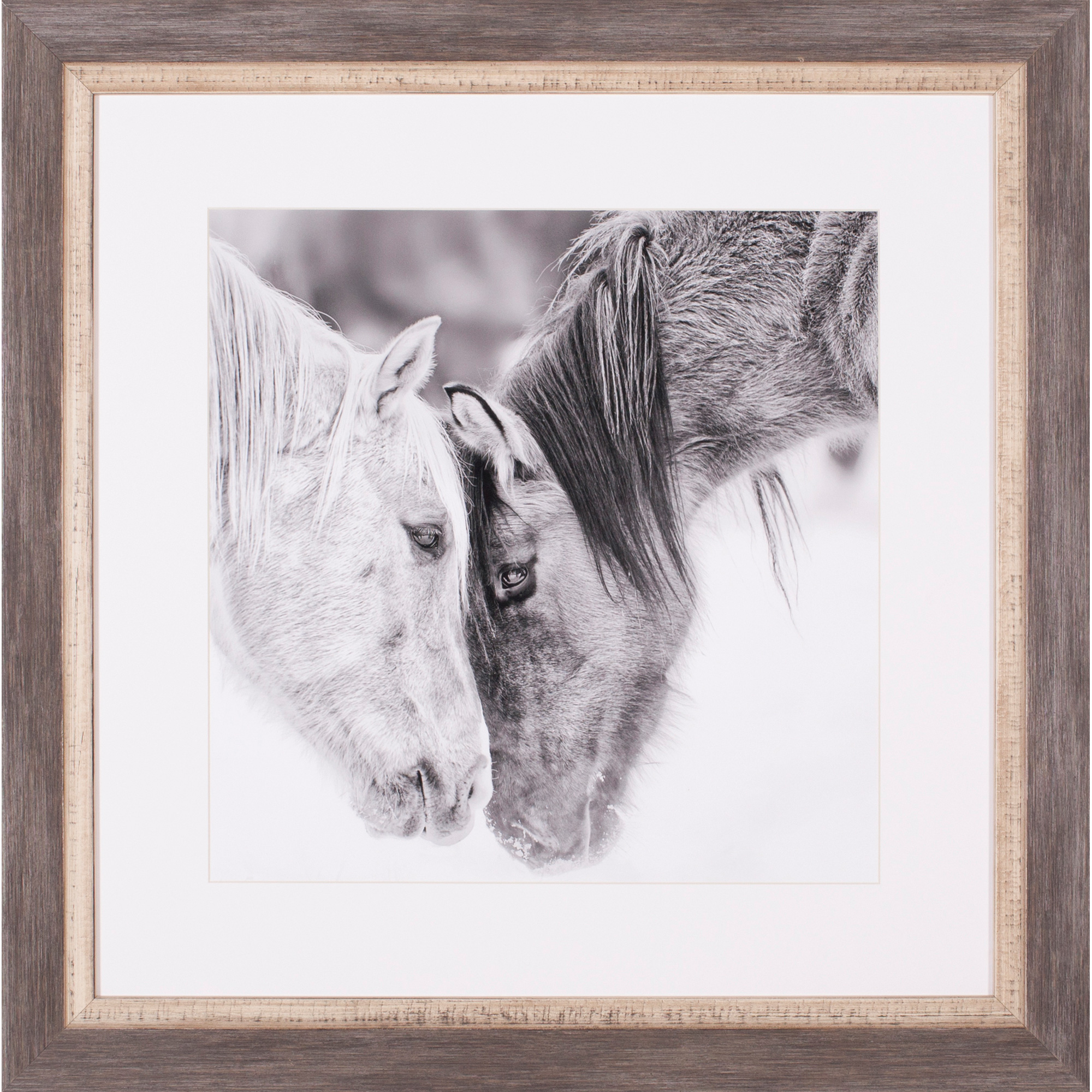 Art Effects | Black and White Horses VII Wall Art