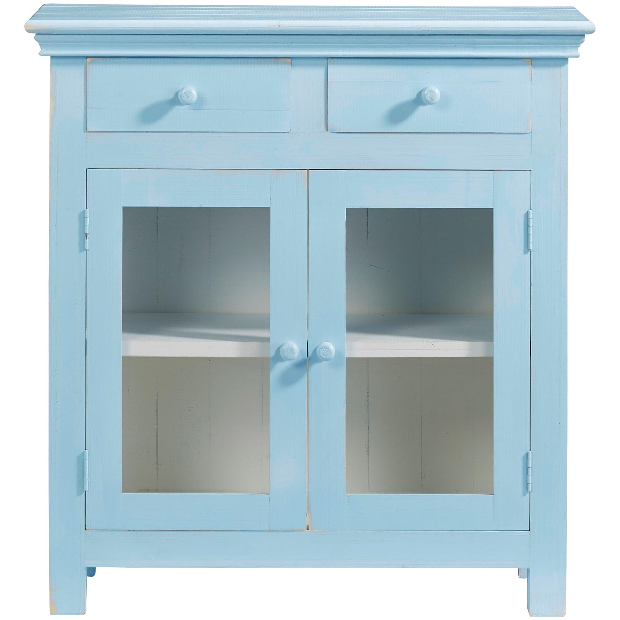 Progressive | Agnes Summertime Blue Curio Cabinet
