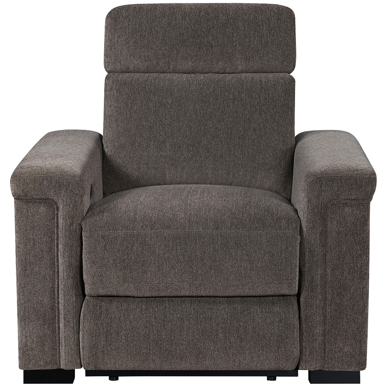 Motion 1Nnovations   Lavenue Brown Power Plus Recliner Chair