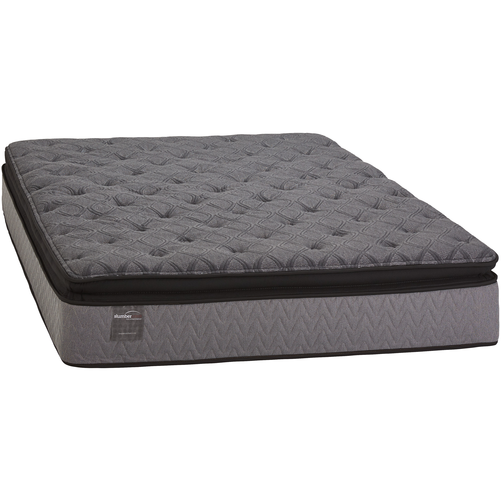 Slumbercrest Plush Pillowtop Queen Mattress