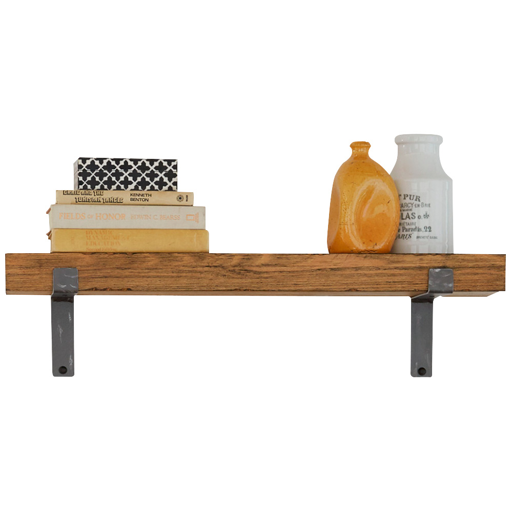 """Martin Furniture | Vintage Honey 30"""" Wall Shelf"""