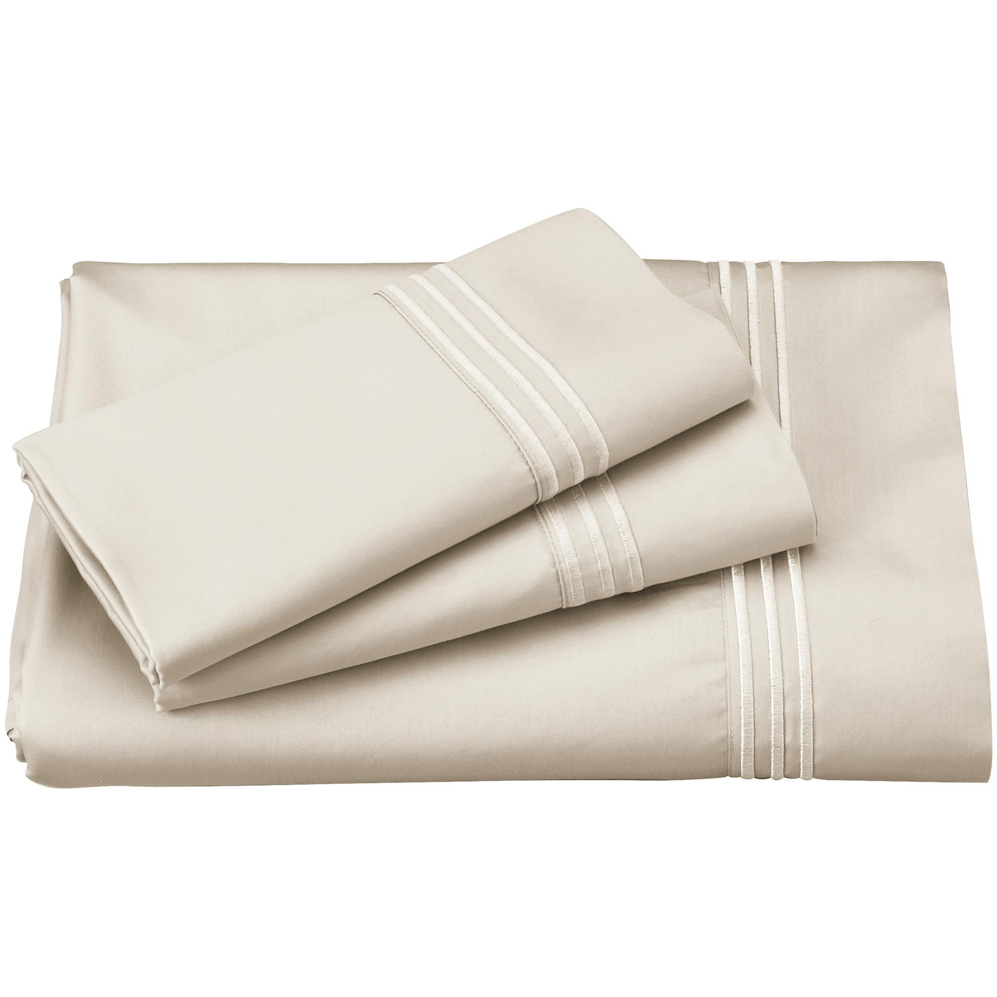 Purecare | Elements Ivory California King Celliant Sheet Set
